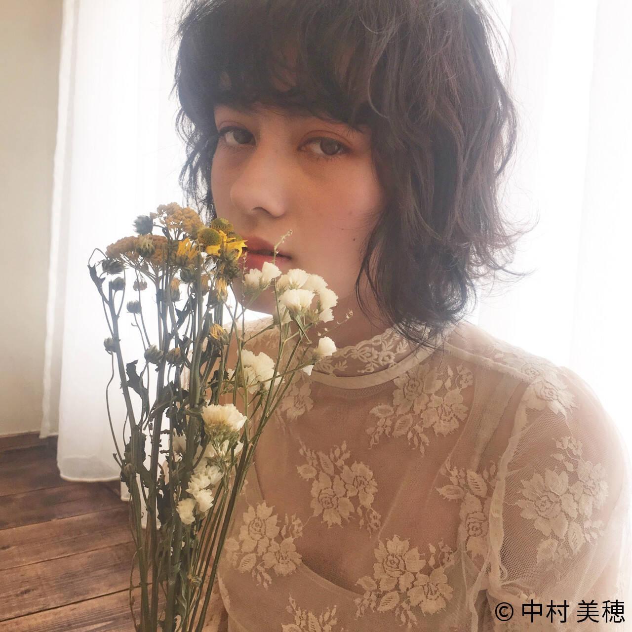 透明感 フェミニン 外国人風 ニュアンスヘアスタイルや髪型の写真・画像