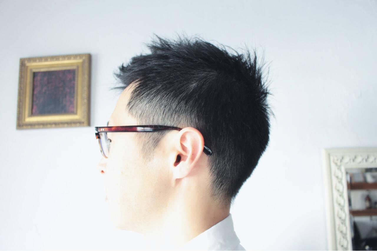 刈り上げ 坊主 ショート メンズヘアスタイルや髪型の写真・画像