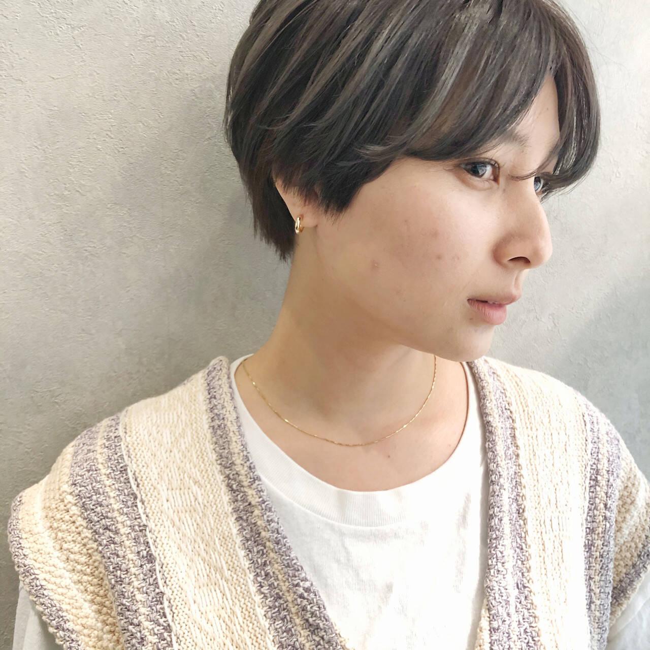 ショート ベリーショート ショートヘア 髪質改善ヘアスタイルや髪型の写真・画像