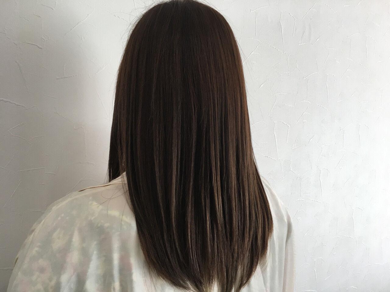 髪質改善トリートメント ロング 髪質改善 頭皮改善ヘアスタイルや髪型の写真・画像
