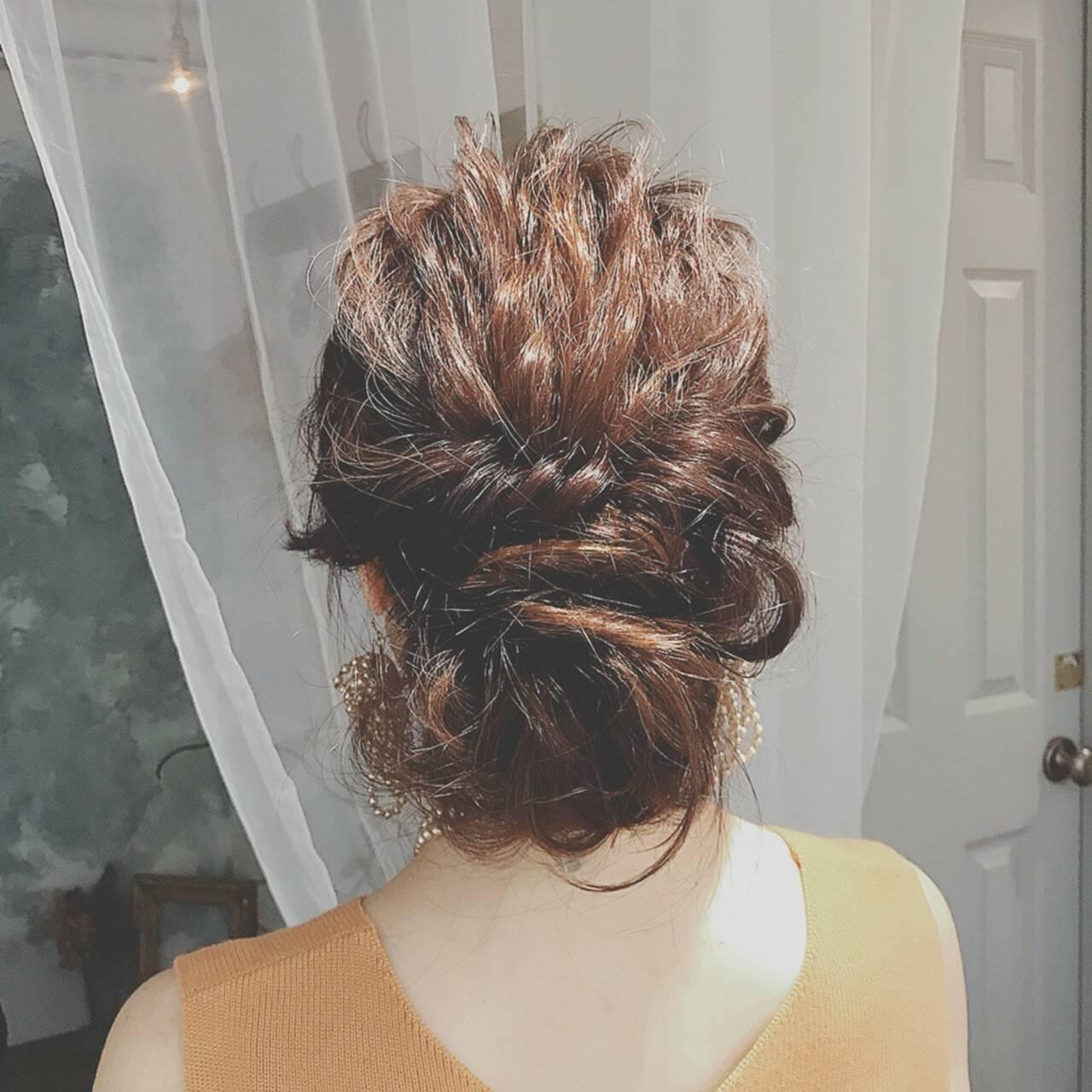大人かわいい 結婚式 ロング ゆるふわヘアスタイルや髪型の写真・画像