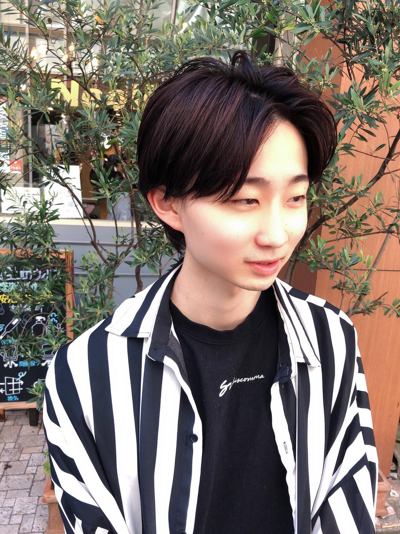 ストリート メンズショート かりあげ メンズヘアヘアスタイルや髪型の写真・画像