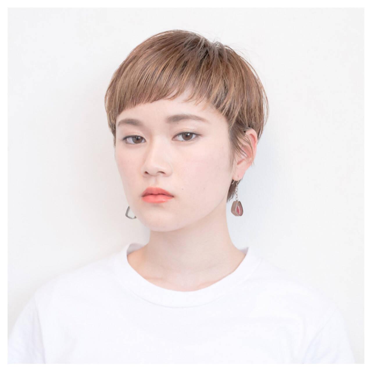 グラデーションカラー 前髪あり 外国人風 簡単ヘアアレンジヘアスタイルや髪型の写真・画像