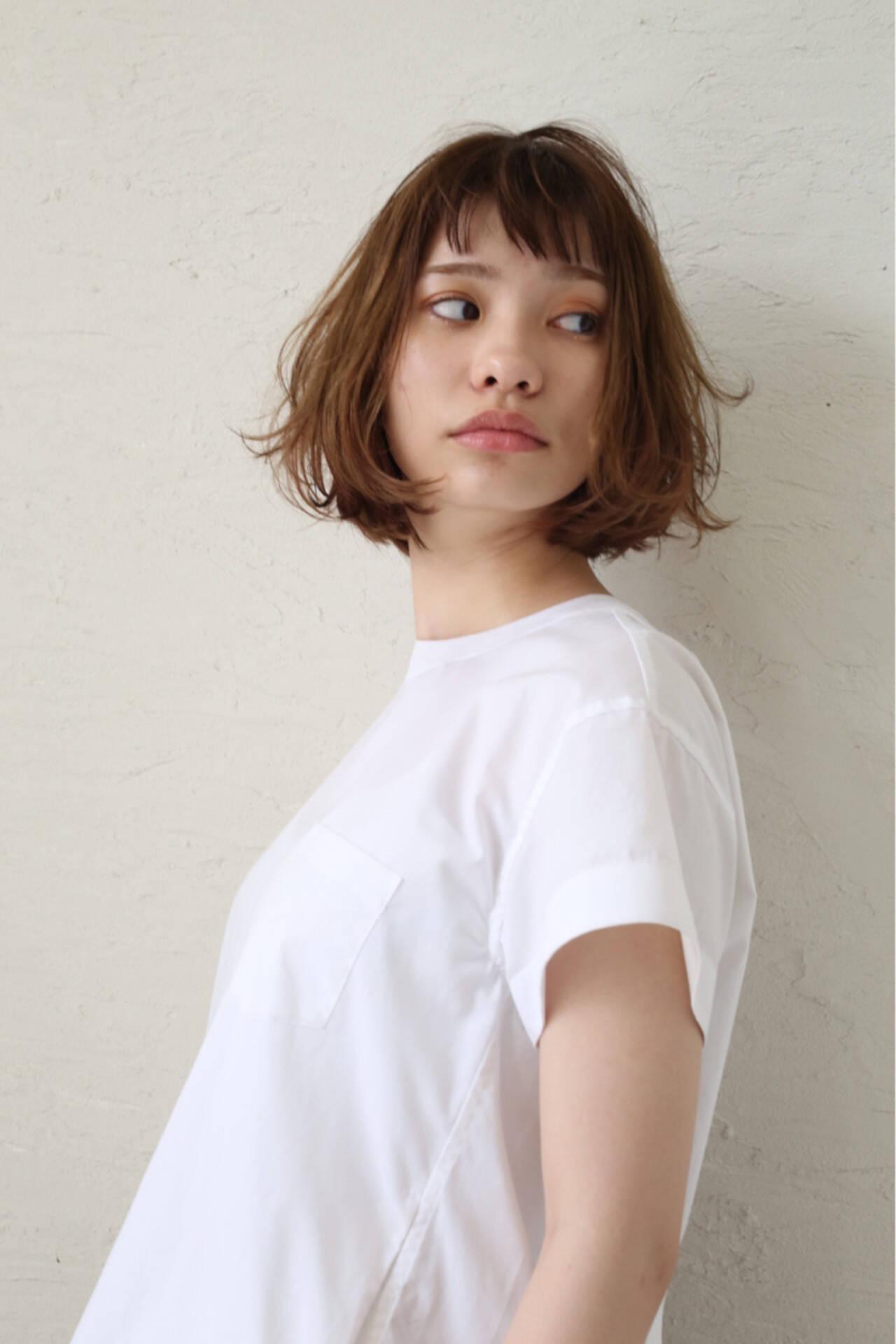 ハイライト 外国人風 かわいい ゆるふわヘアスタイルや髪型の写真・画像