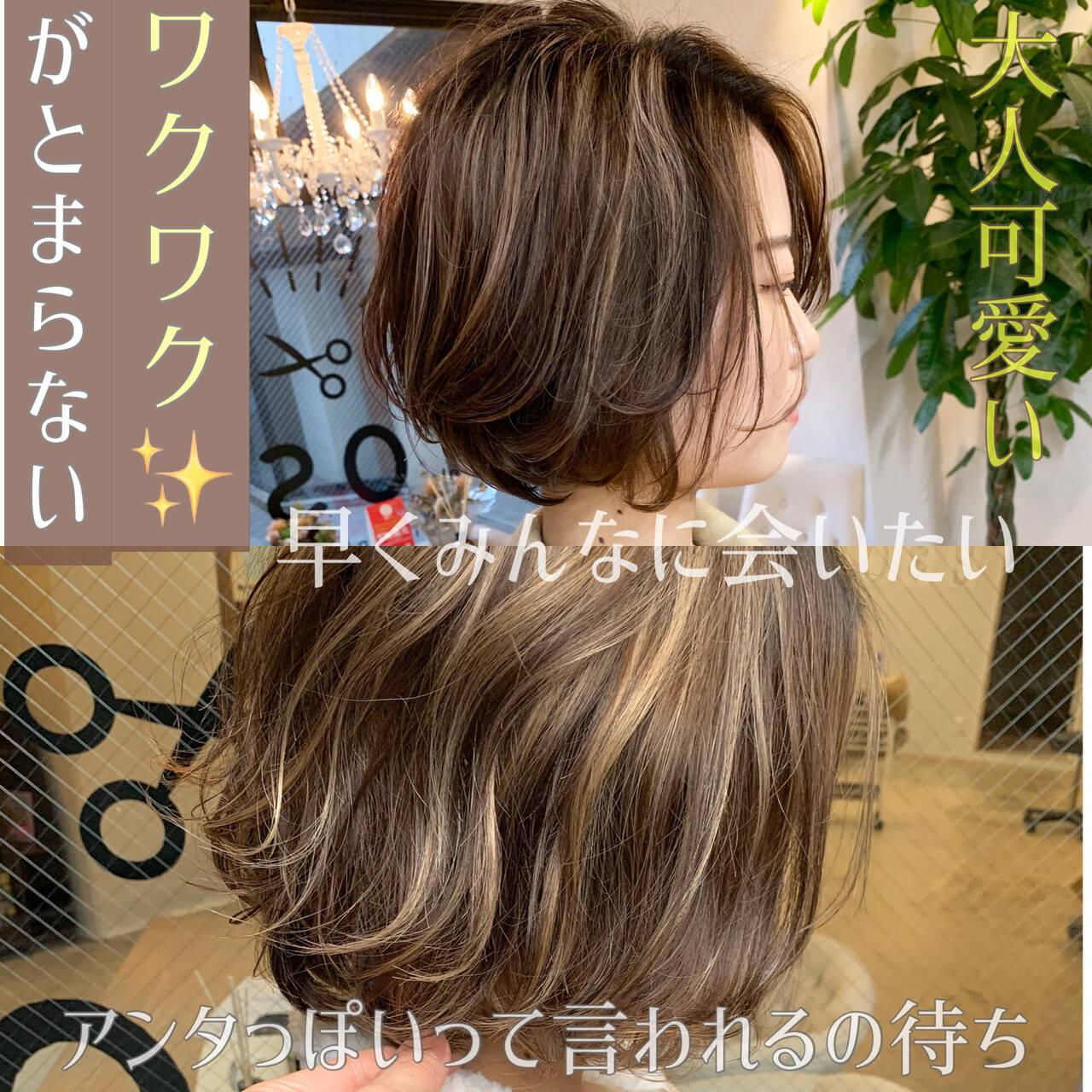 ナチュラル ショート ショートボブ デートヘアスタイルや髪型の写真・画像