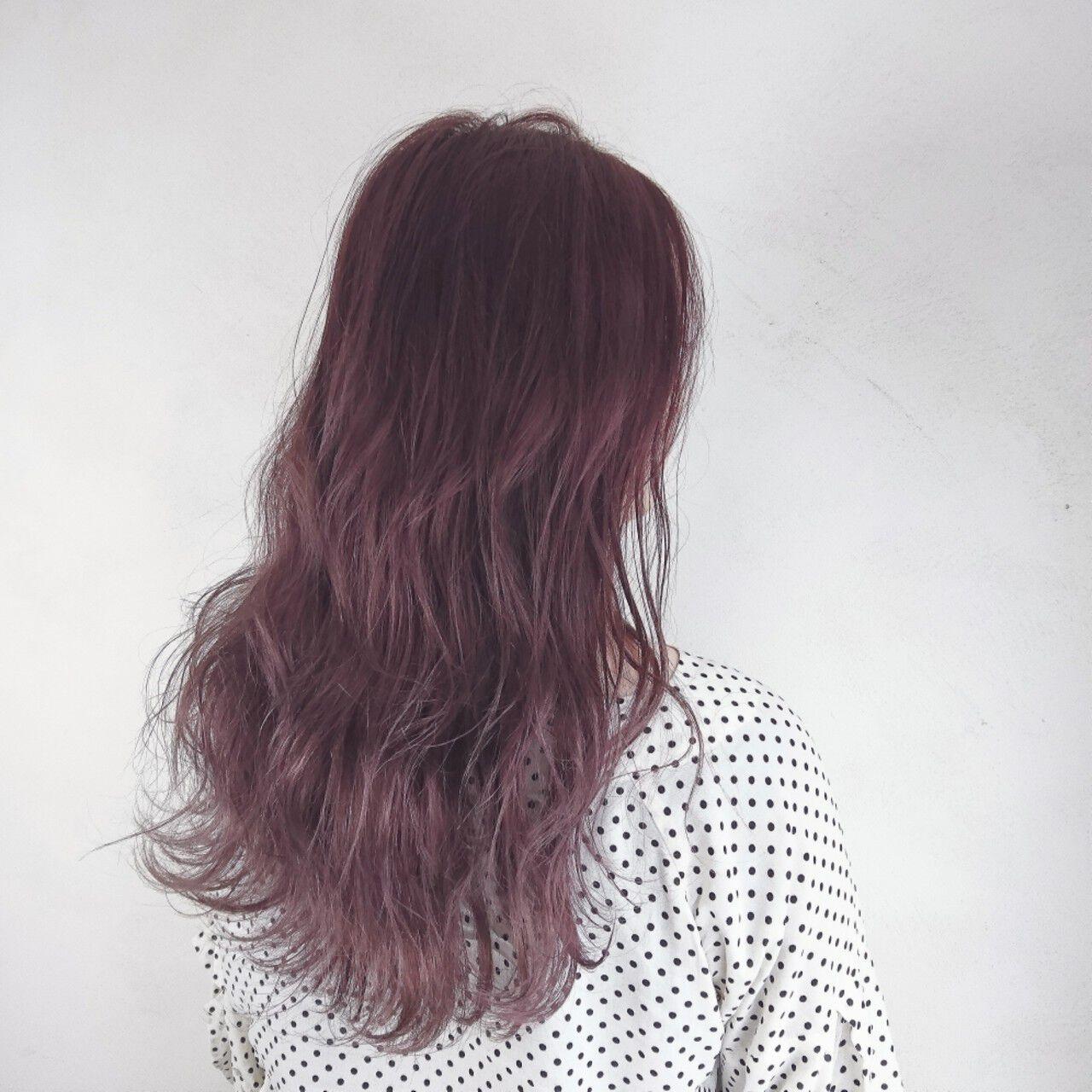 透明感 ロング オルチャン ガーリーヘアスタイルや髪型の写真・画像