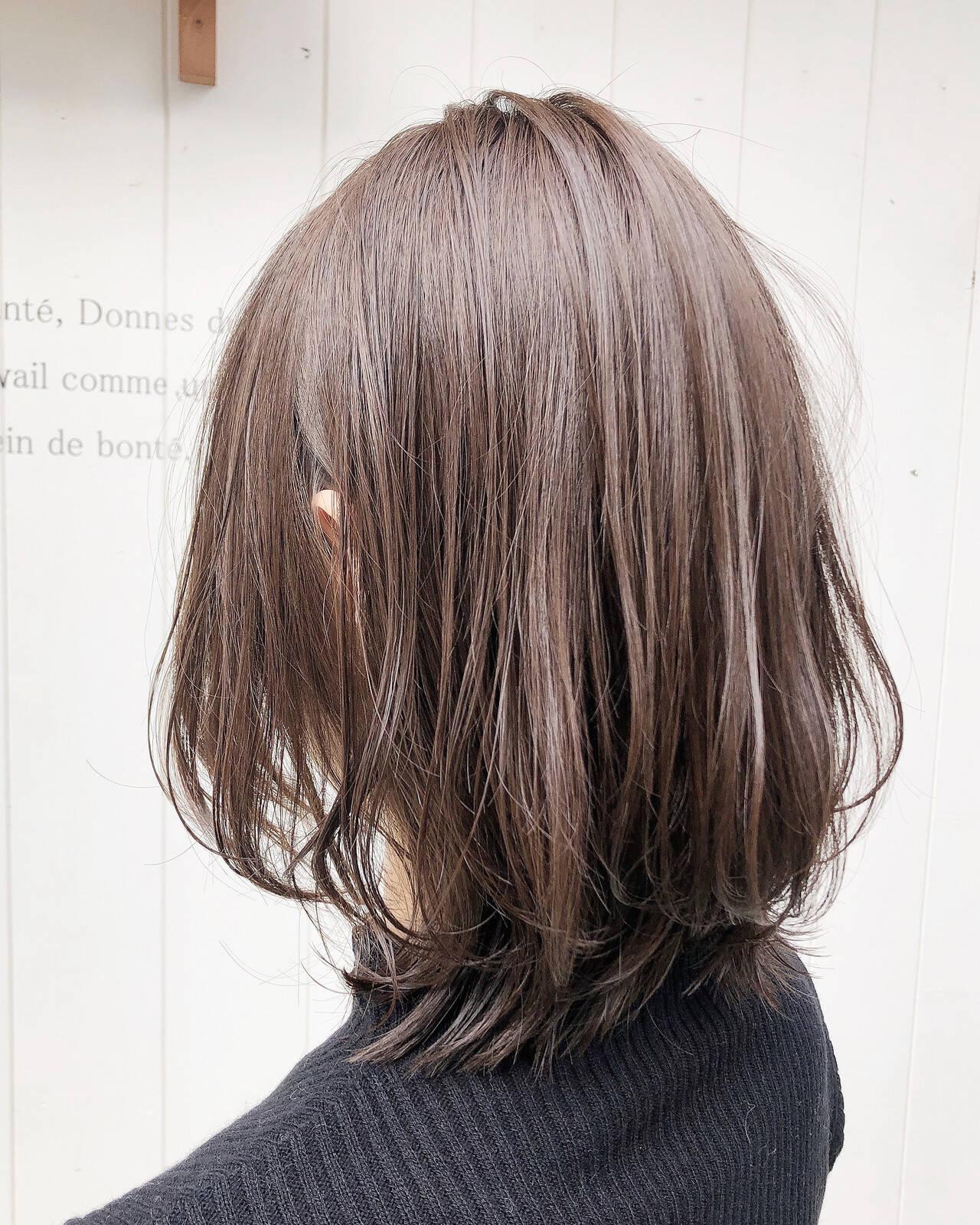 切りっぱなしボブ ミディアム ベリーショート ウルフカットヘアスタイルや髪型の写真・画像