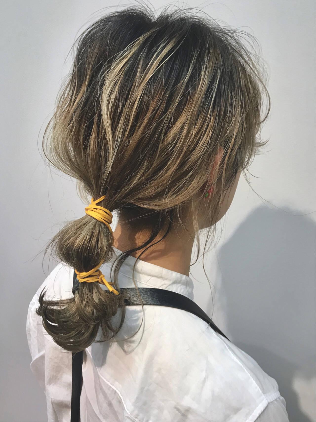 パーティ ガーリー セミロング ヘアセットヘアスタイルや髪型の写真・画像