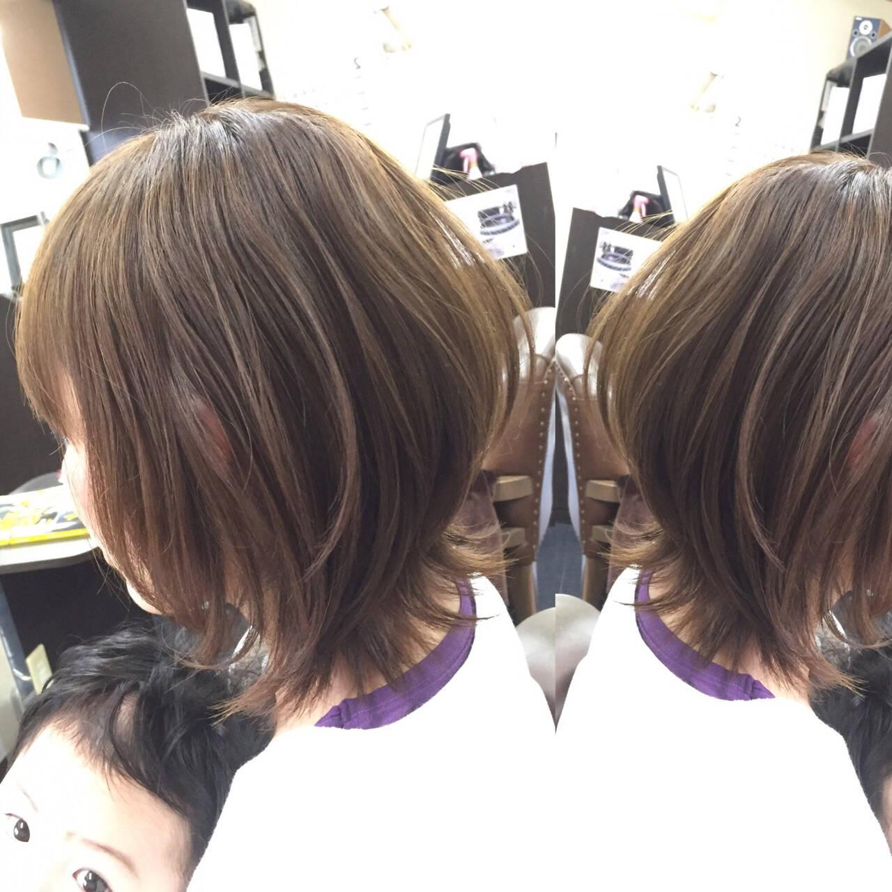 マッシュ アッシュ ボブ 大人かわいいヘアスタイルや髪型の写真・画像