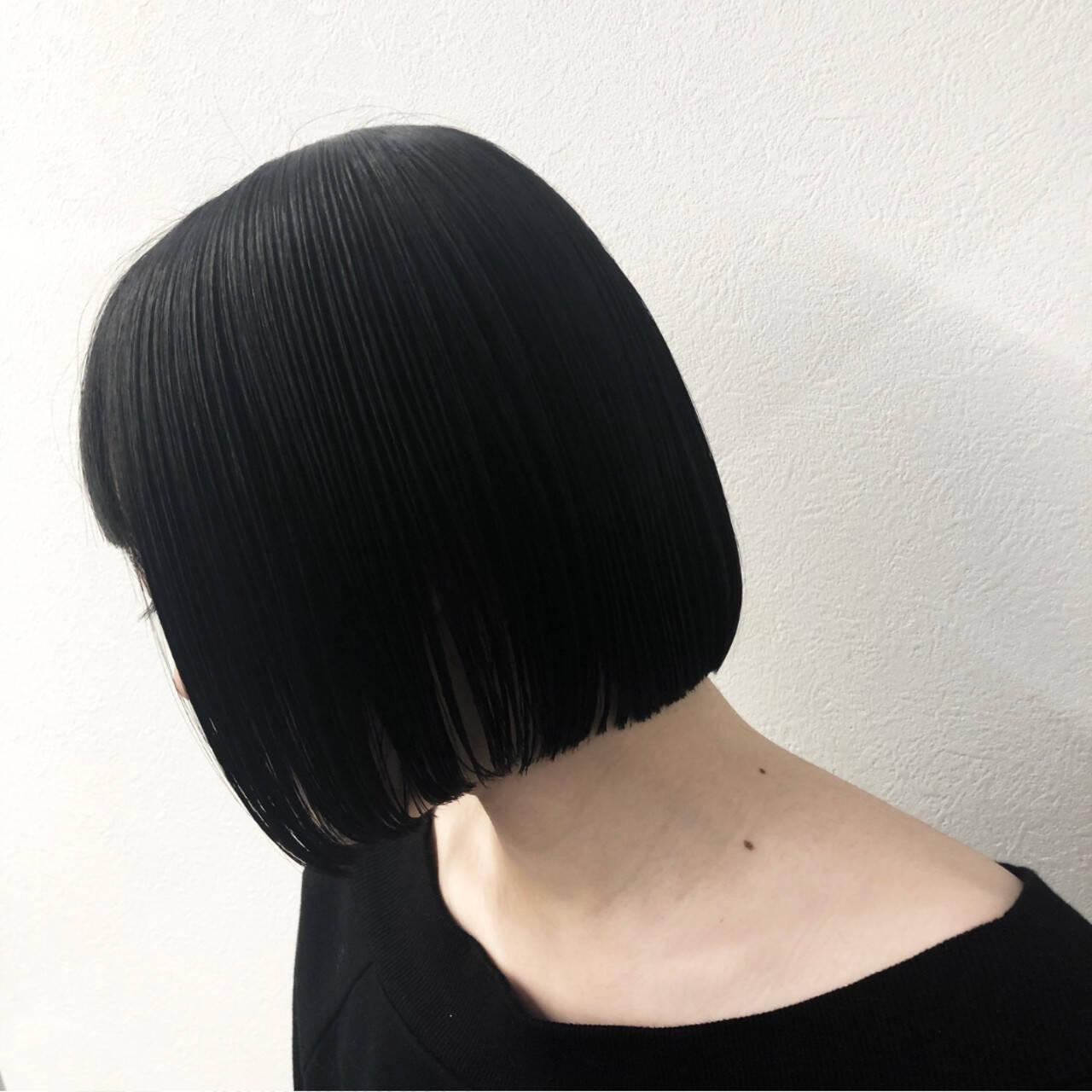 モード ショートヘア 外国人風 デートヘアスタイルや髪型の写真・画像