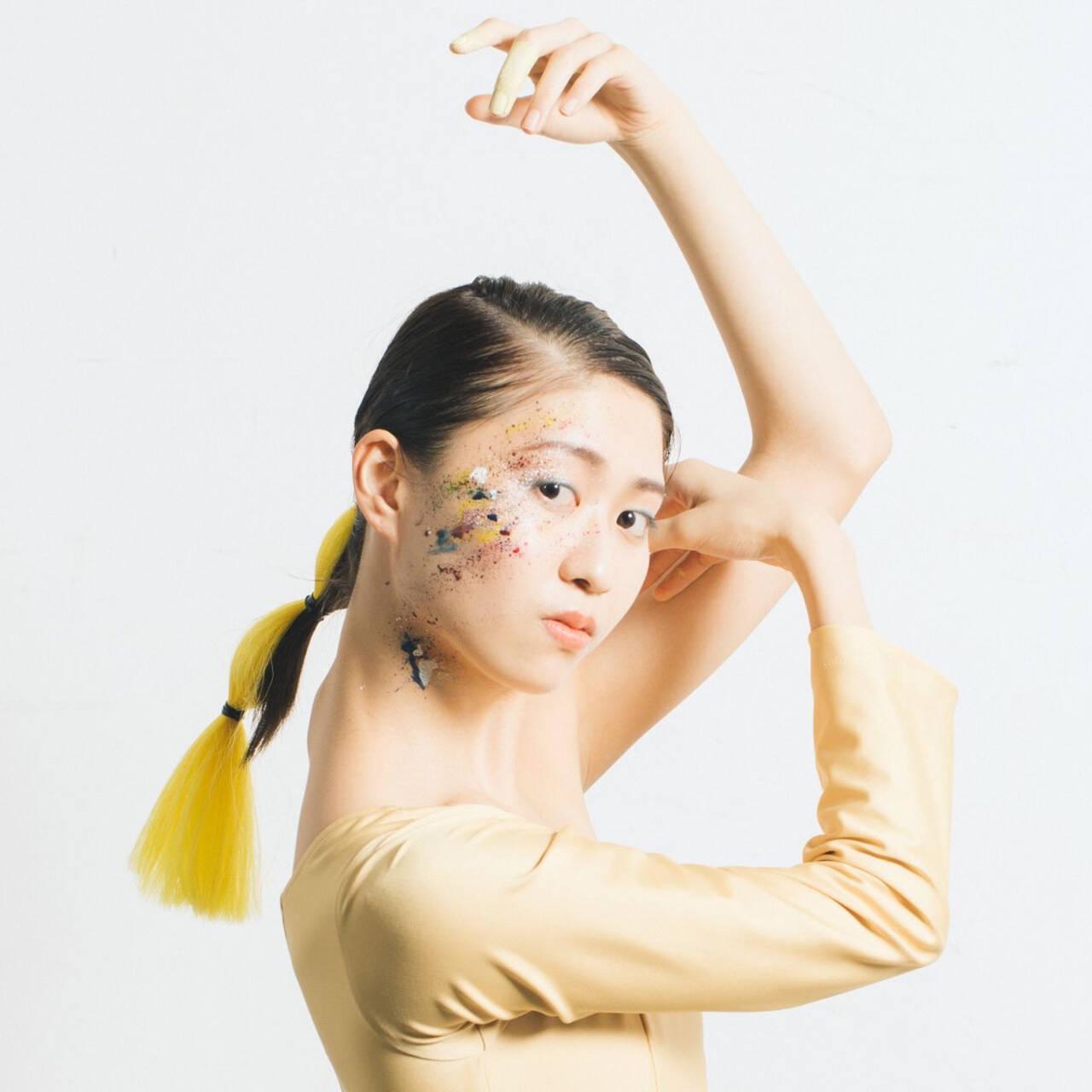ヘアアレンジ ヴィーナスコレクション モード ヘアメイクヘアスタイルや髪型の写真・画像