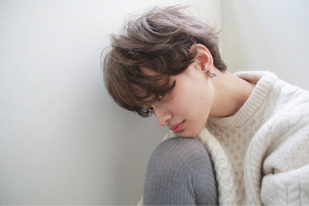 ショート ストリート 外国人風 ブリーチヘアスタイルや髪型の写真・画像