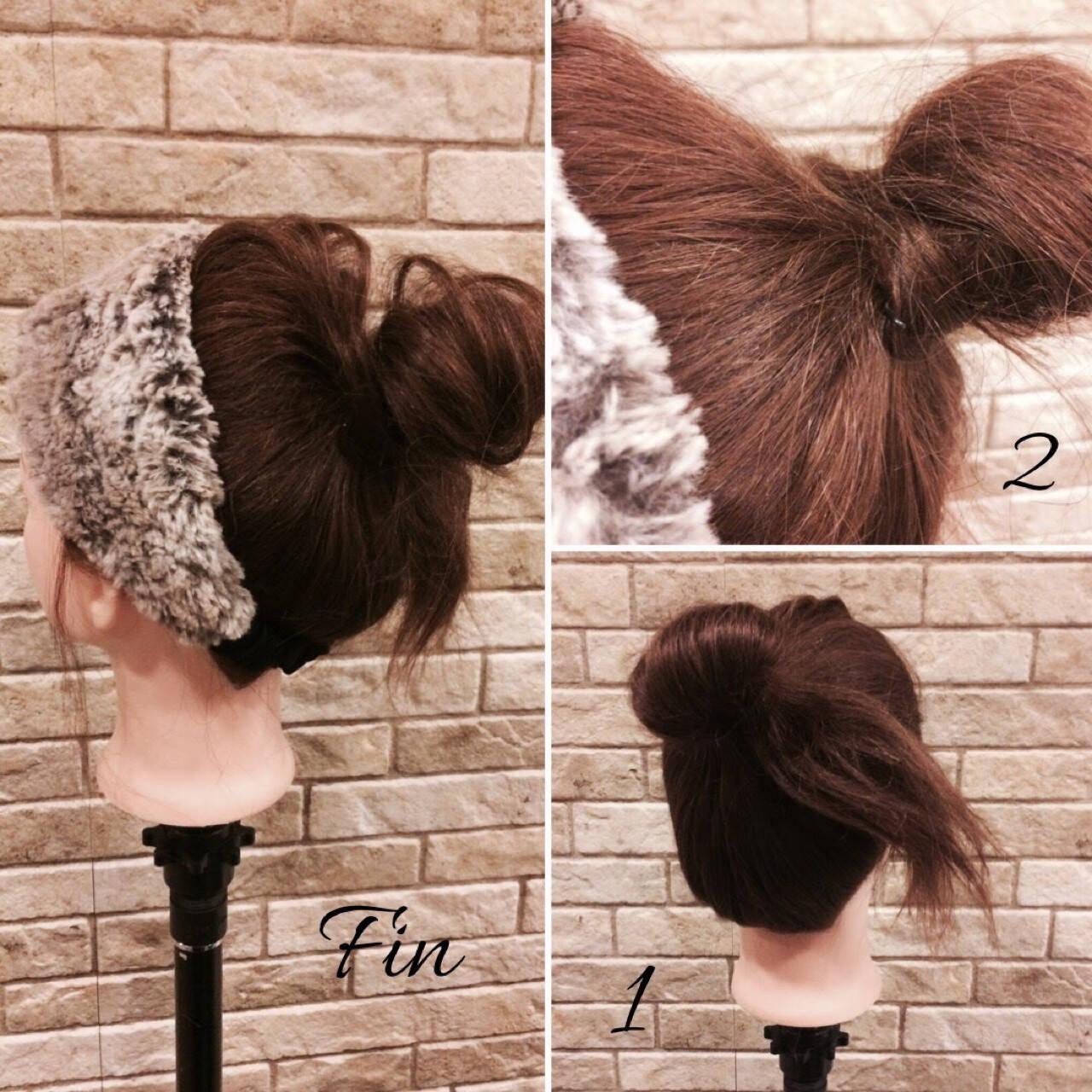 アウトドア ミディアム ナチュラル ヘアアレンジヘアスタイルや髪型の写真・画像