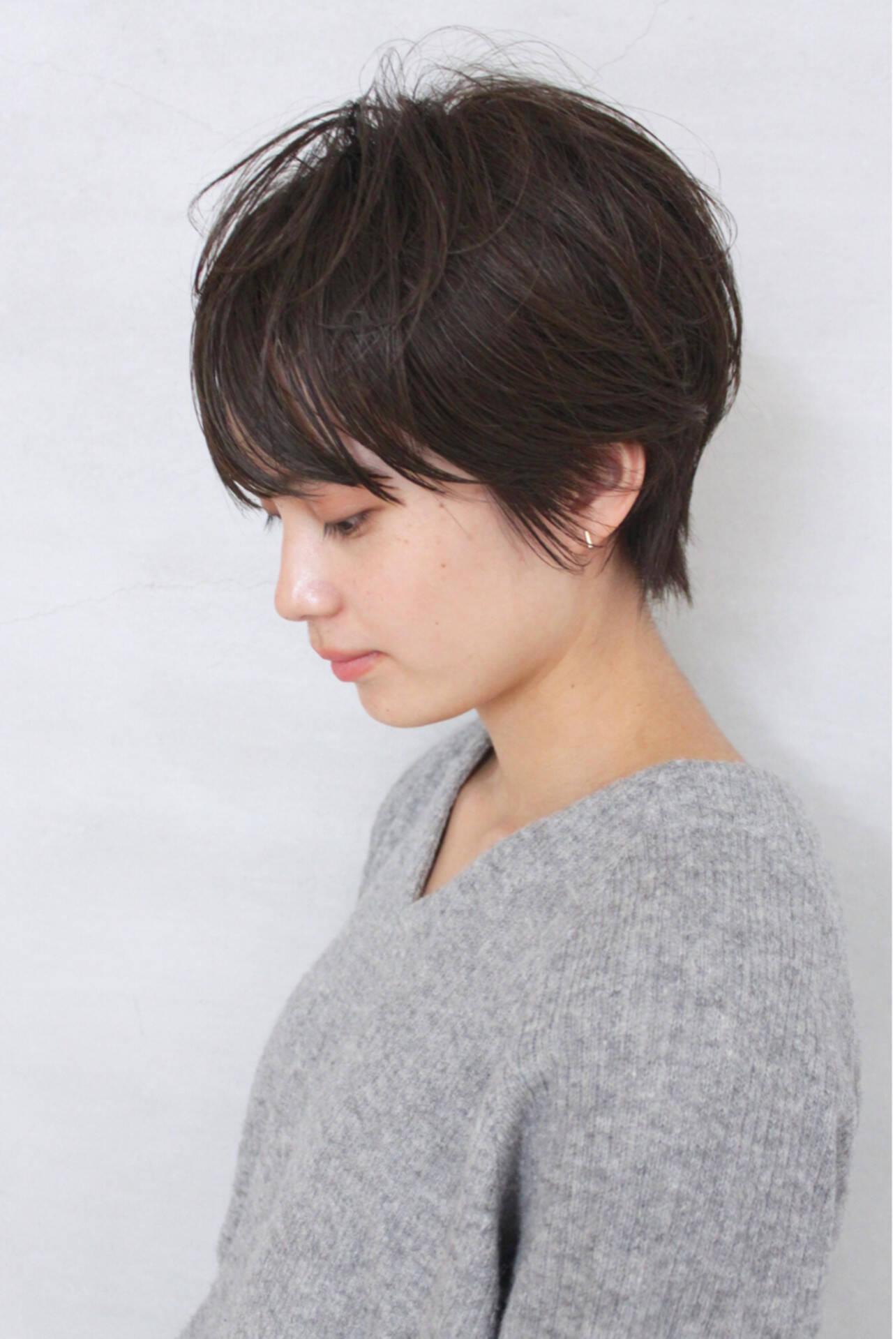 黒髪 大人女子 ナチュラル 大人かわいいヘアスタイルや髪型の写真・画像