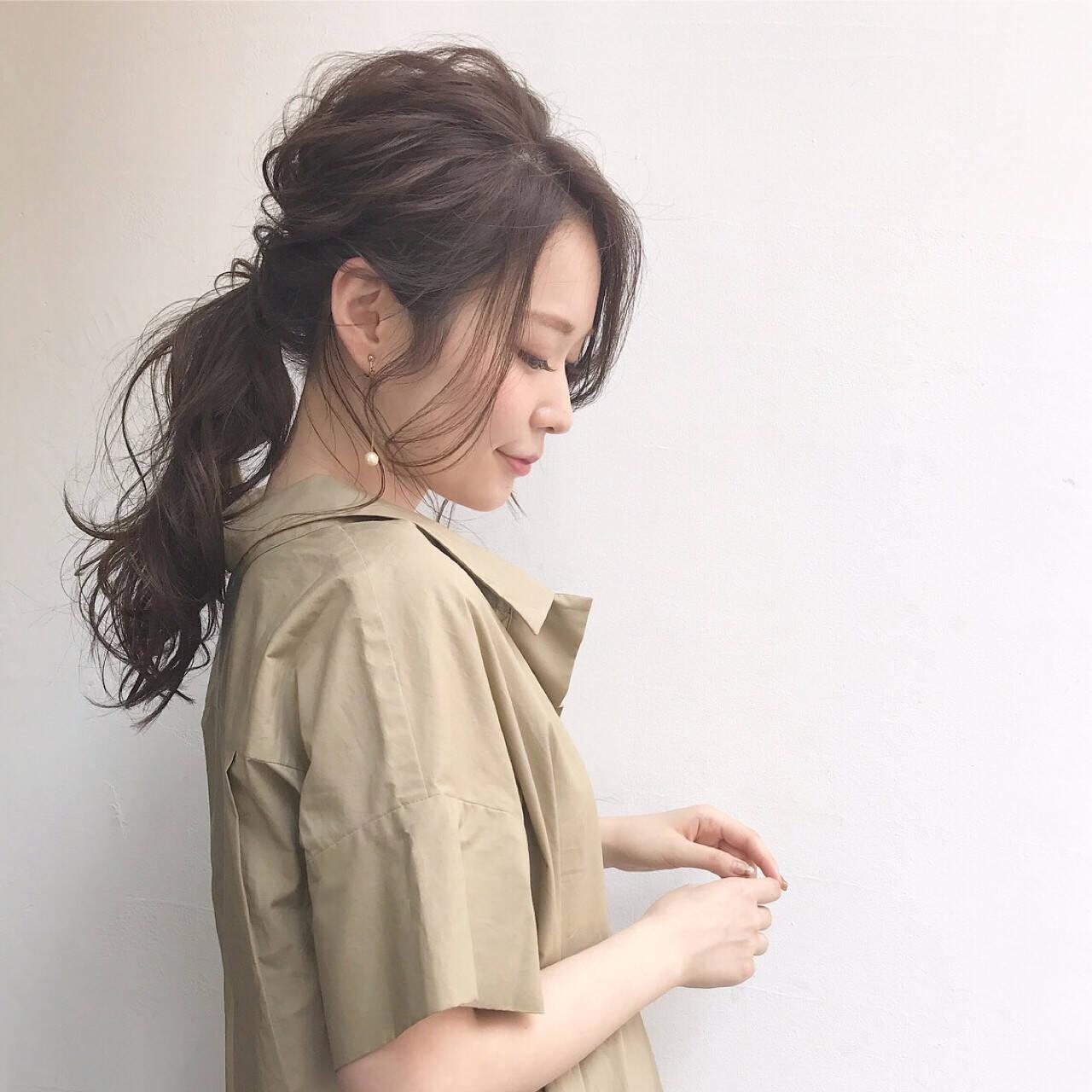 ロング ナチュラル 透明感 ヘアアレンジヘアスタイルや髪型の写真・画像