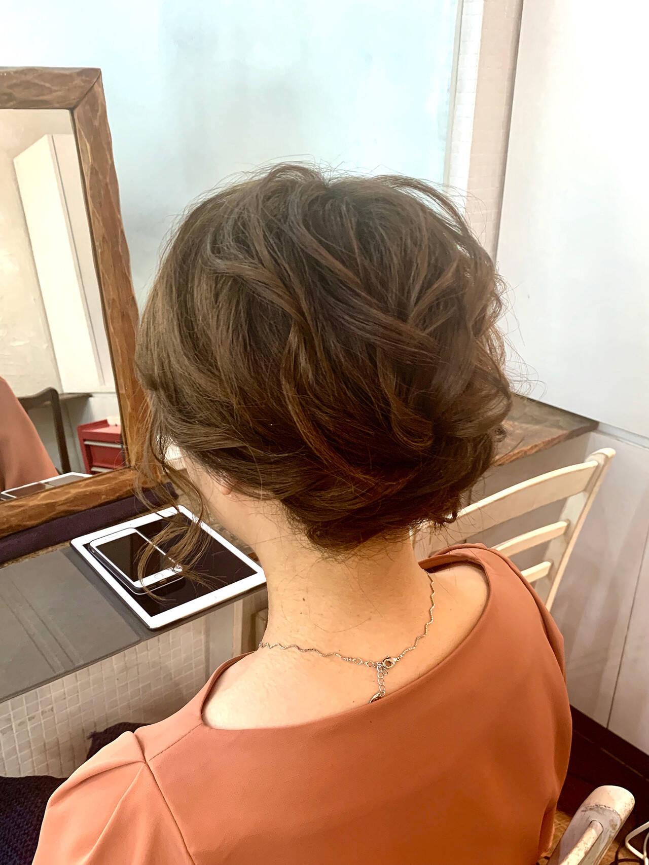 ヘアアレンジ 抜け感 ナチュラル 簡単ヘアアレンジヘアスタイルや髪型の写真・画像