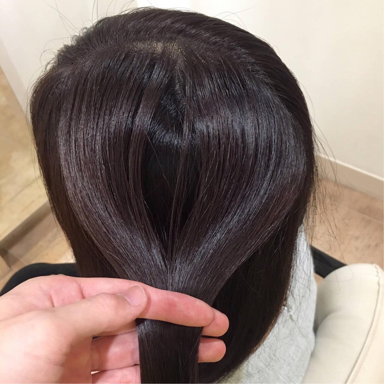 ツヤ ロング 美髪 ヘアケアヘアスタイルや髪型の写真・画像