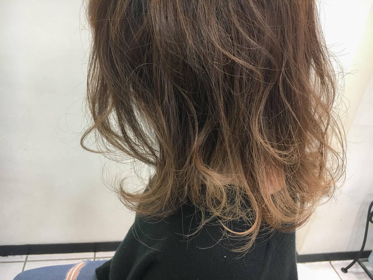 透明感 ナチュラル 外国人風カラー ハイライトヘアスタイルや髪型の写真・画像