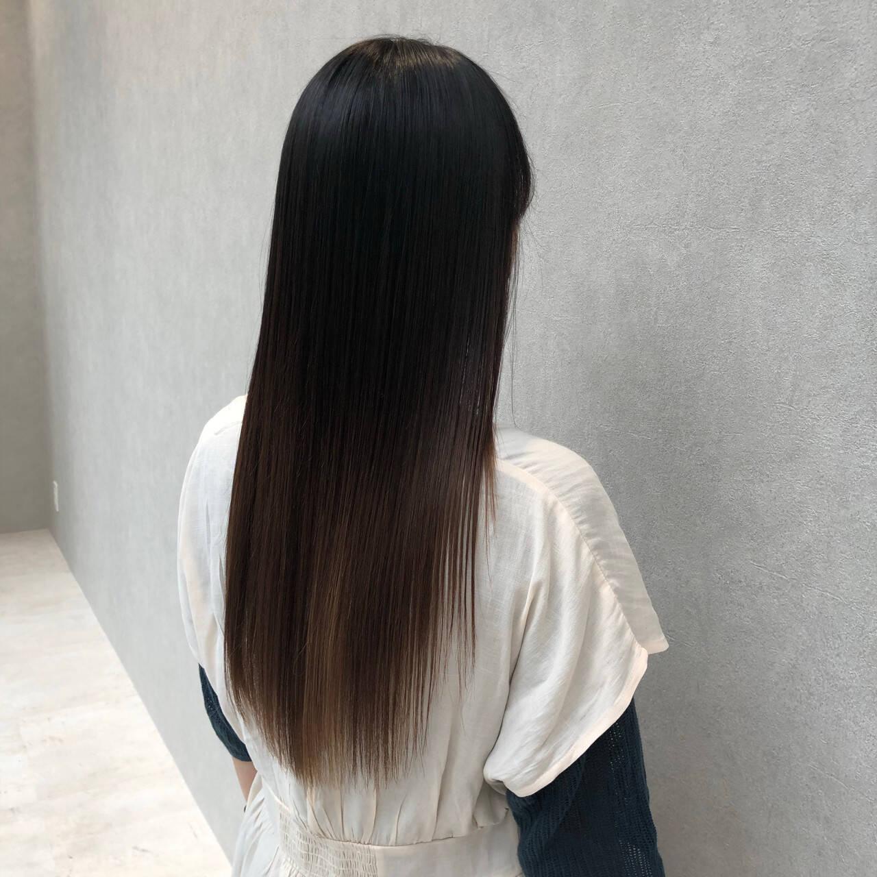 髪質改善トリートメント 髪質改善 ロング 最新トリートメントヘアスタイルや髪型の写真・画像
