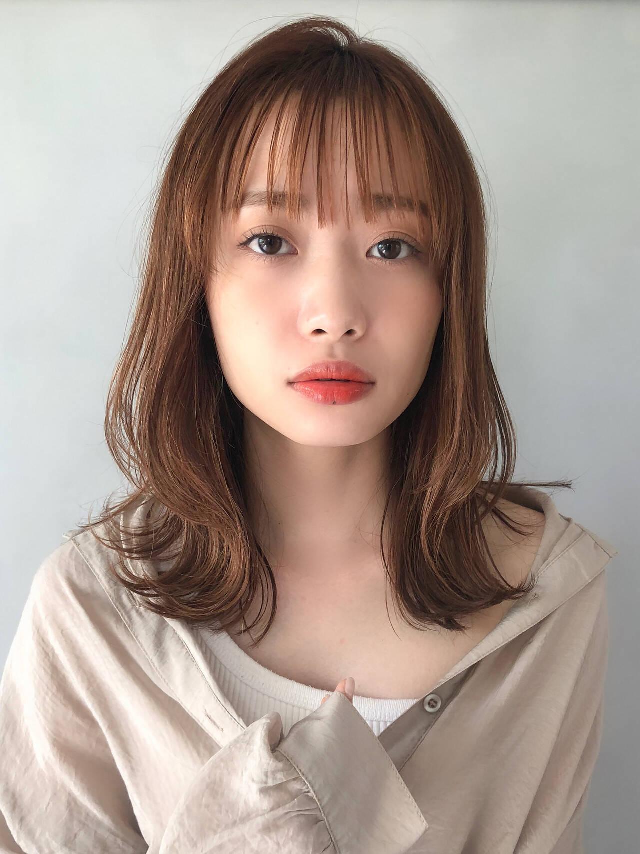 表参道 セルフヘアアレンジ 爽やか 小顔ヘアヘアスタイルや髪型の写真・画像