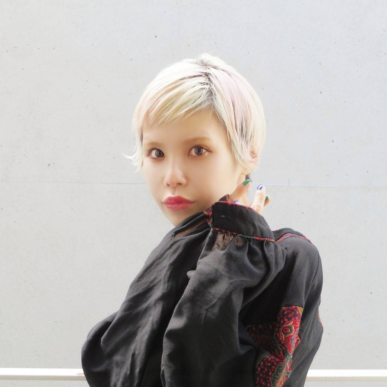 ヘアアレンジ 外国人風 ショートヘア ショートヘアスタイルや髪型の写真・画像