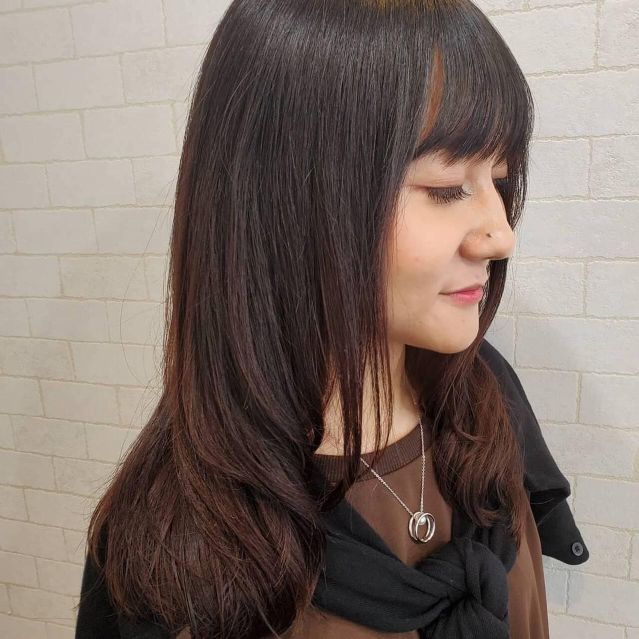 縮毛矯正ストカール エレガント 艶髪 縮毛矯正名古屋市ヘアスタイルや髪型の写真・画像