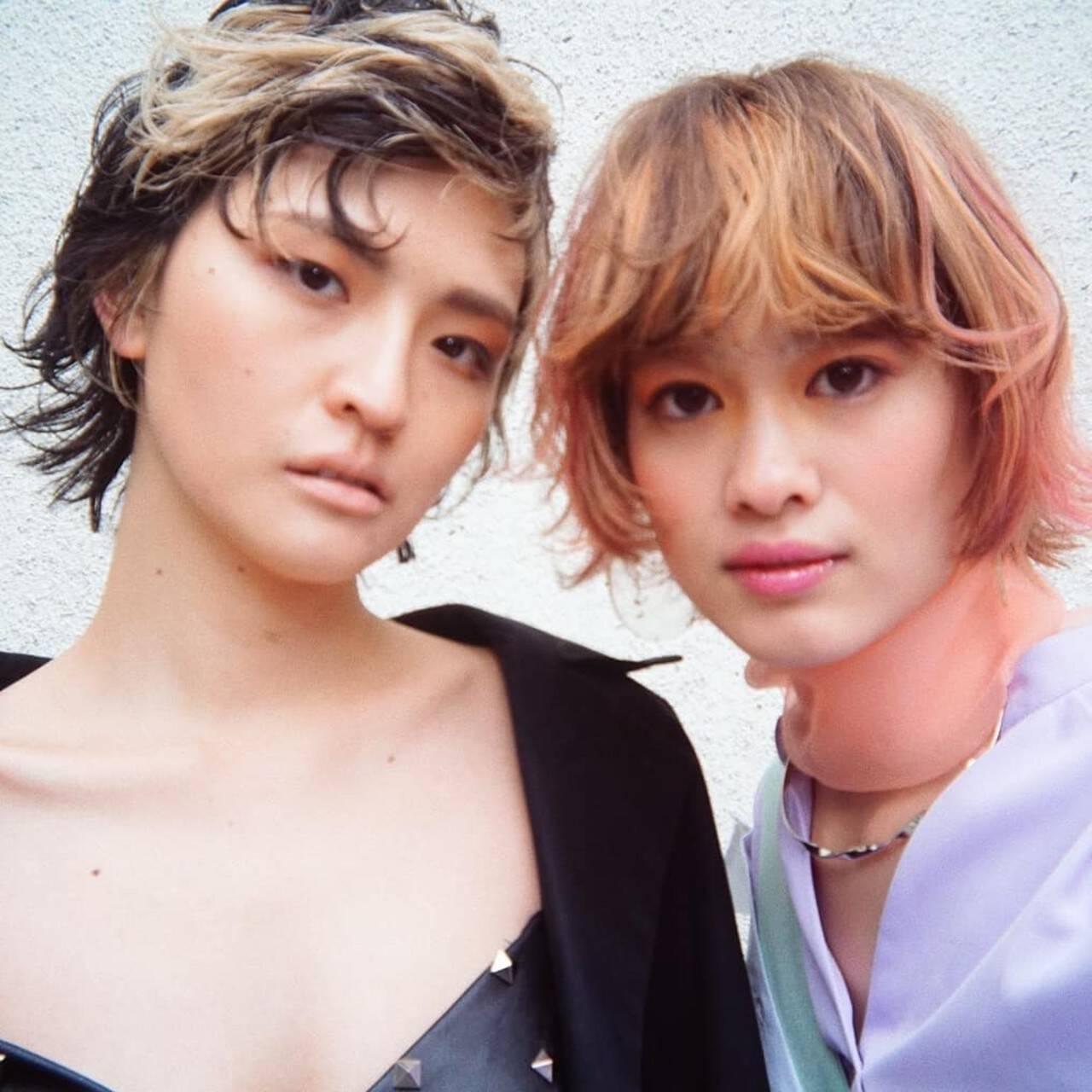 ショート PEEK-A-BOO 阿藤俊也 大人ヘアスタイルヘアスタイルや髪型の写真・画像