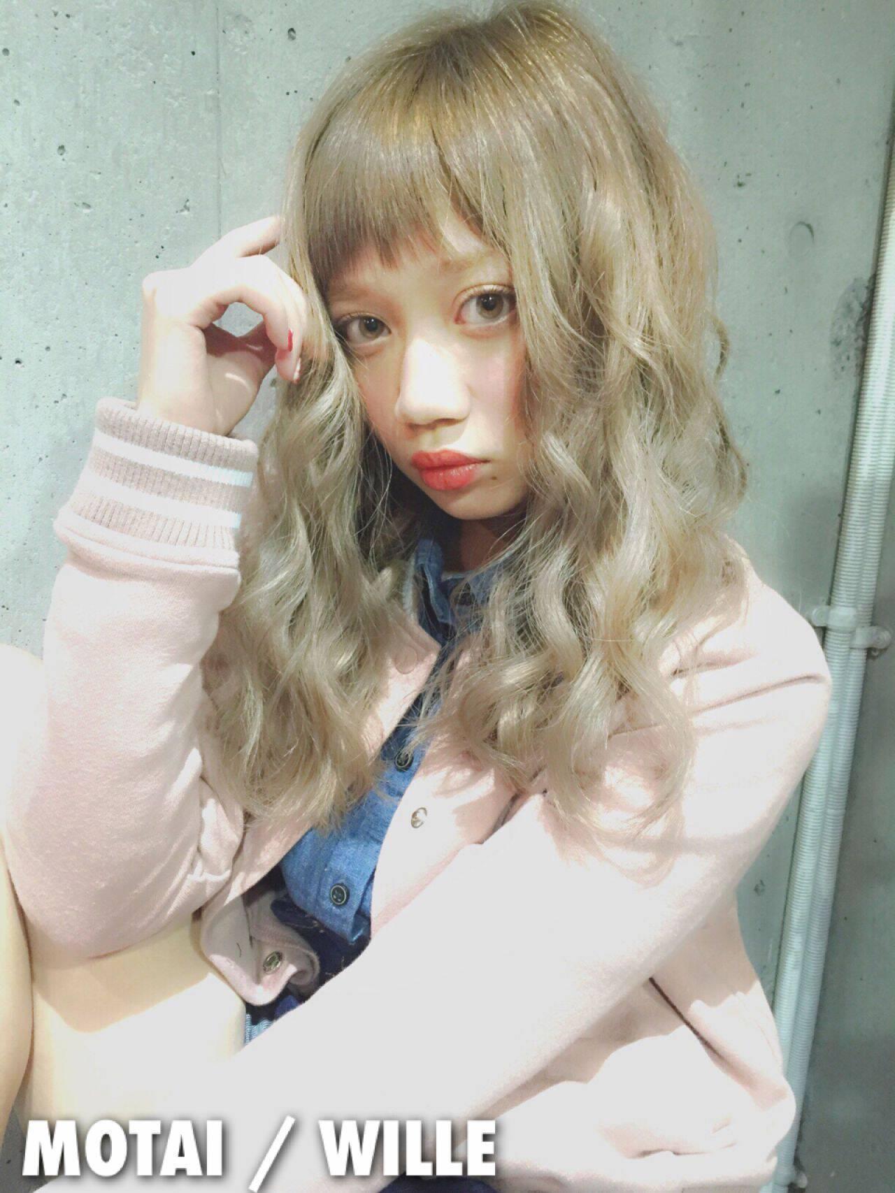 大人かわいい 外国人風 ロング ヘアアレンジヘアスタイルや髪型の写真・画像