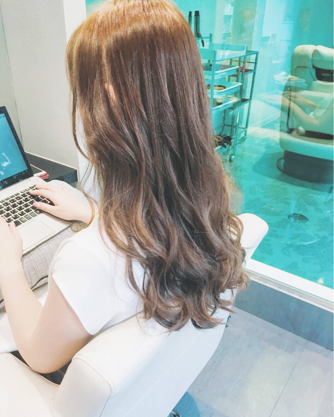 上品 艶髪 エレガント トリートメントヘアスタイルや髪型の写真・画像