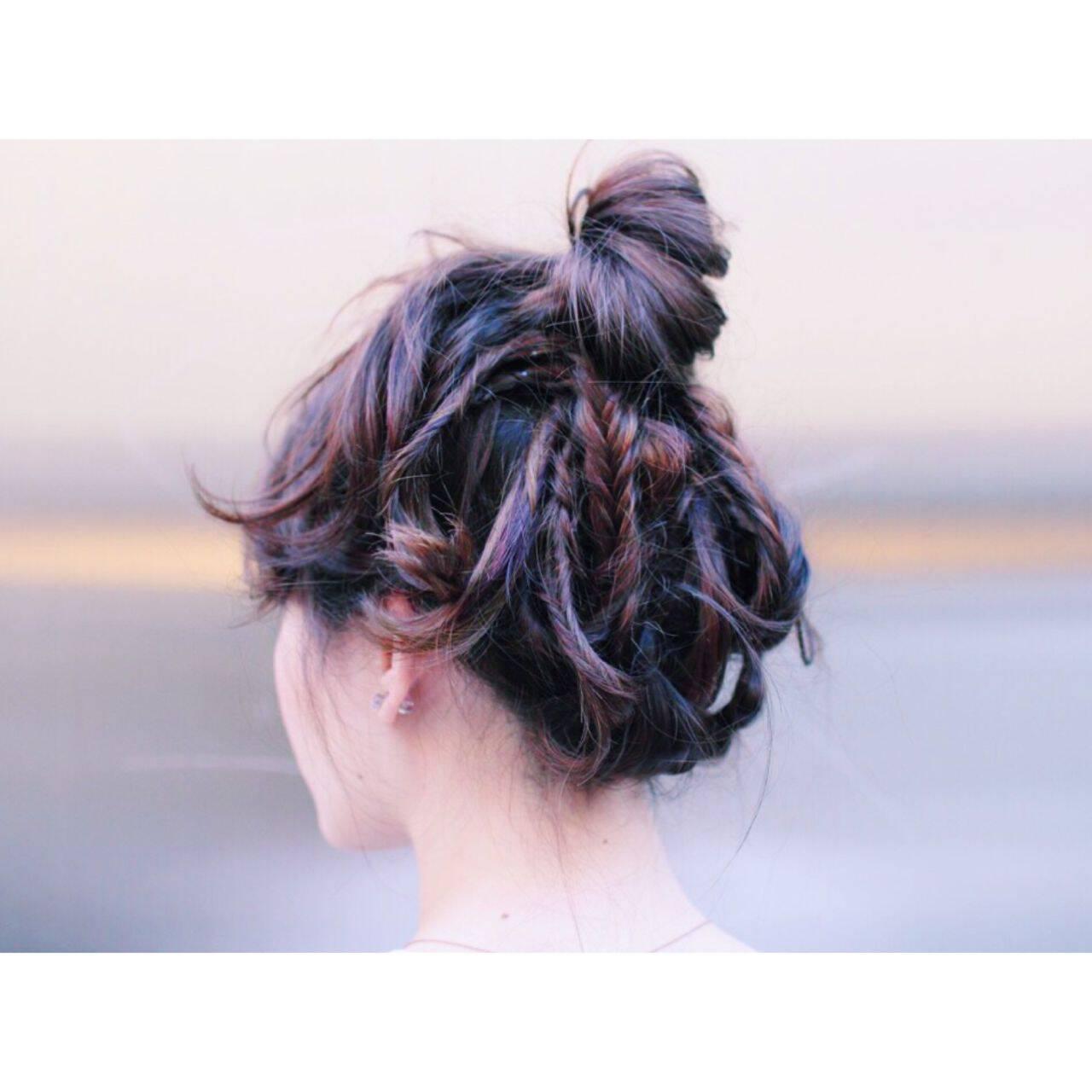 ストリート ウェットヘアヘアスタイルや髪型の写真・画像