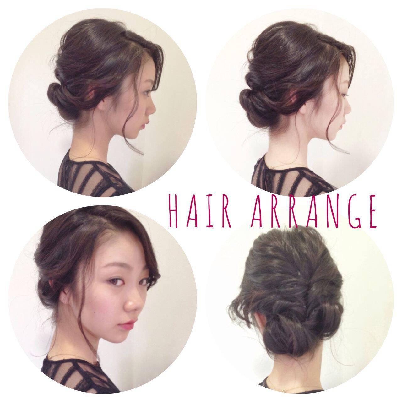 編み込み ツイスト ナチュラル かっこいいヘアスタイルや髪型の写真・画像