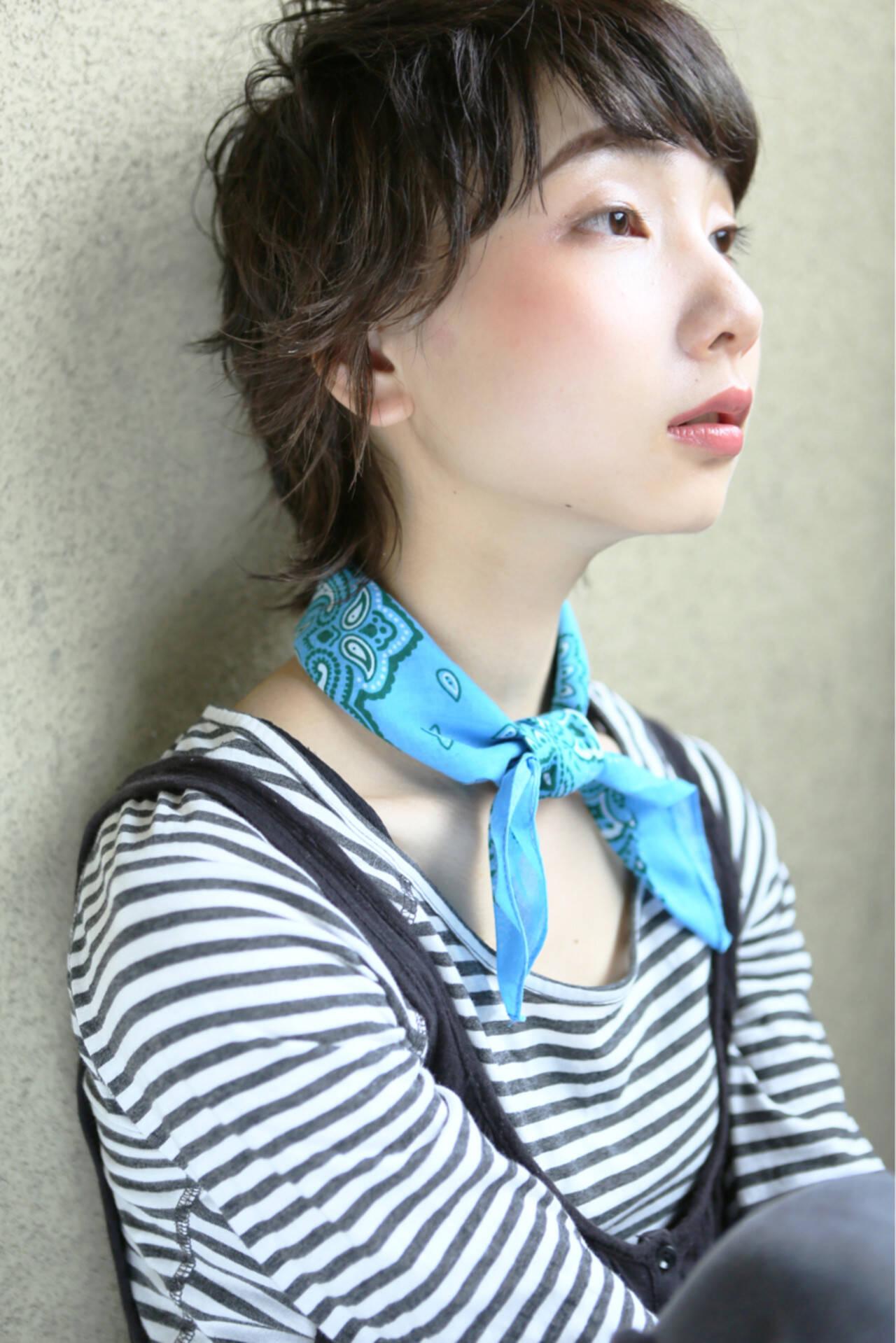 外国人風 パーマ 大人かわいい ストリートヘアスタイルや髪型の写真・画像