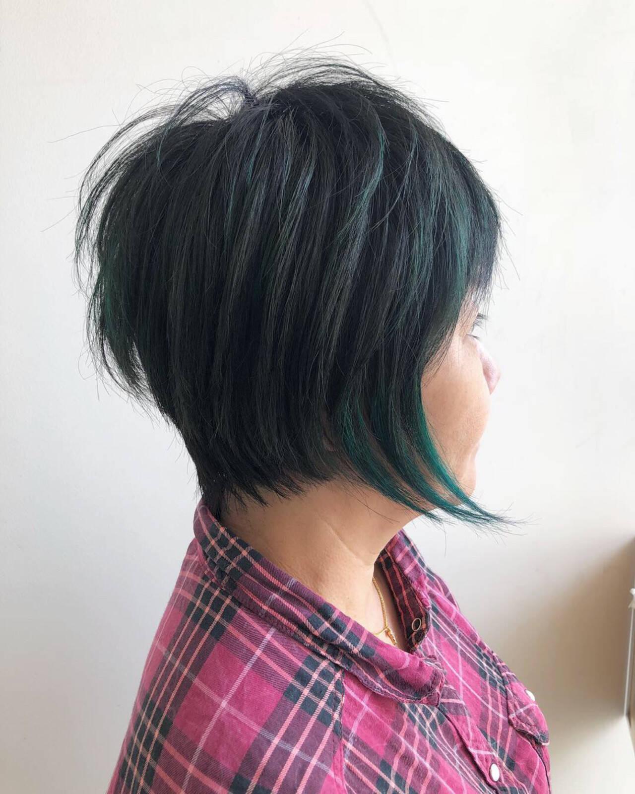 外国人風 エアリー 大人かわいい ショートヘアスタイルや髪型の写真・画像