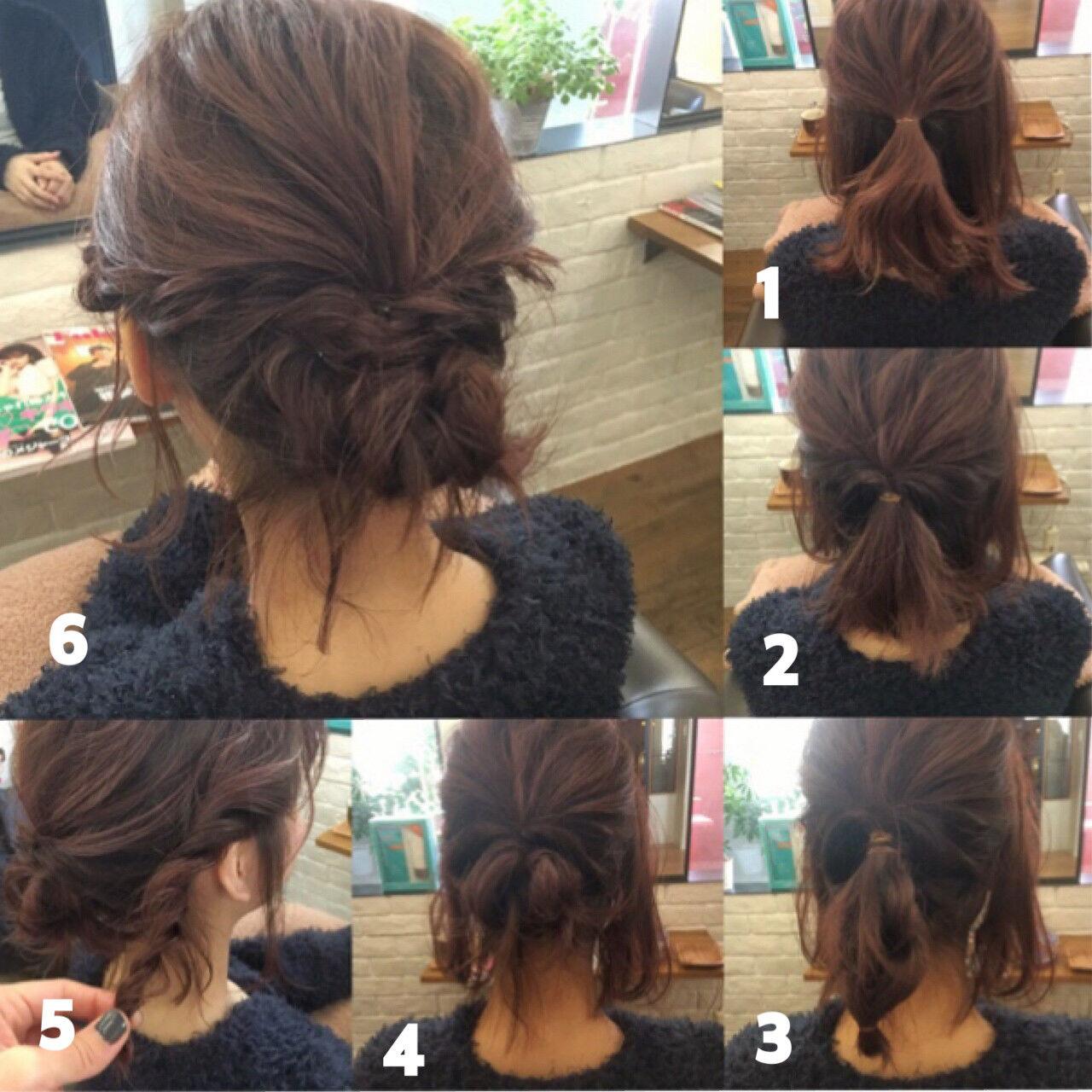 ヘアアレンジ ミルクティー ベージュ フェミニンヘアスタイルや髪型の写真・画像