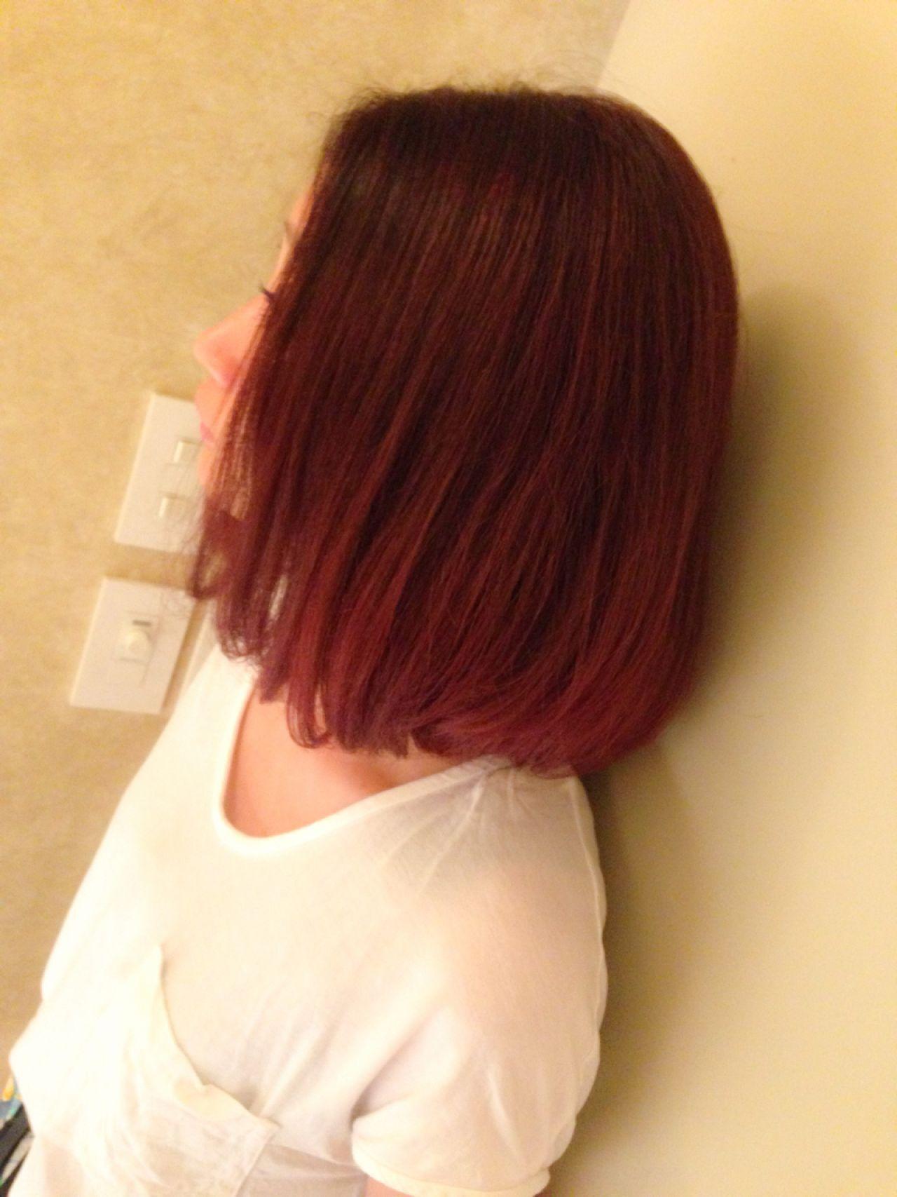 レッド ストリート ピンク 愛されヘアスタイルや髪型の写真・画像