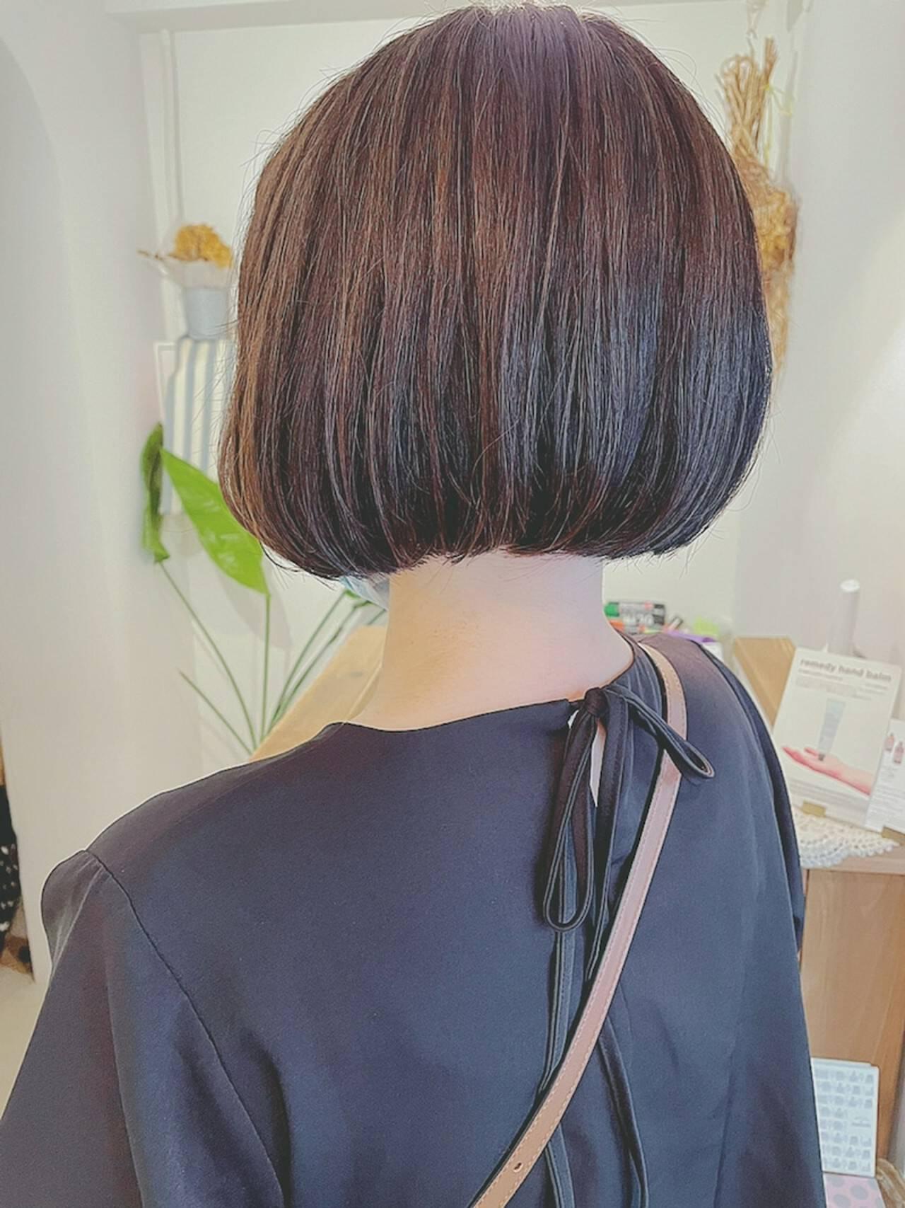 アンニュイほつれヘア ボブ 秋 大人かわいいヘアスタイルや髪型の写真・画像