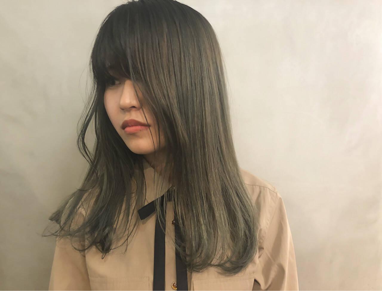 成人式 ヘアアレンジ セミロング 抜け感ヘアスタイルや髪型の写真・画像