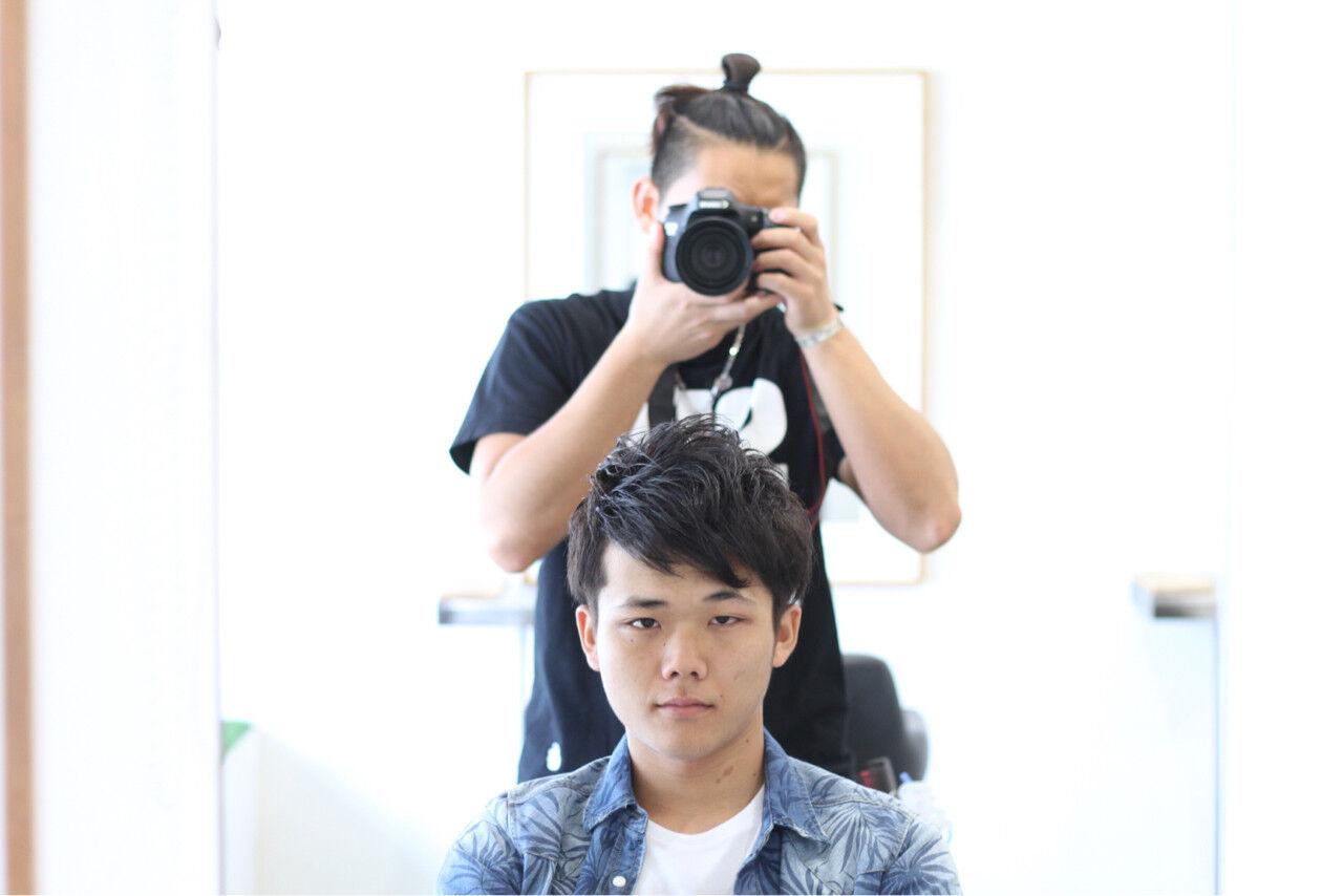 モテ髪 ナチュラル ボーイッシュ メンズヘアスタイルや髪型の写真・画像