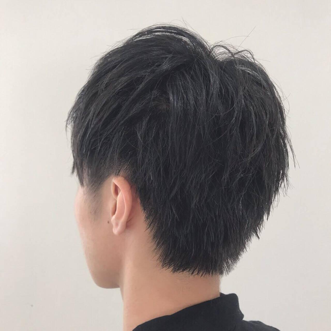 スポーツ メンズスタイル 黒髪 メンズショートヘアスタイルや髪型の写真・画像