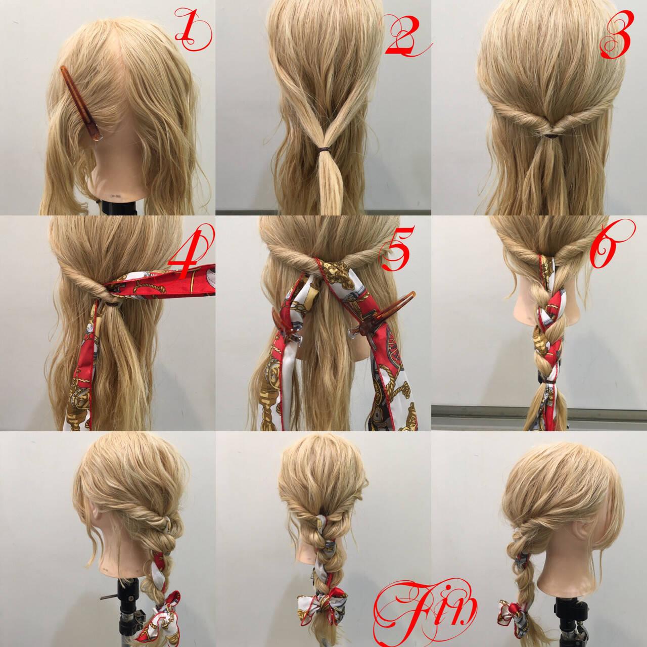 簡単ヘアアレンジ ヘアアクセ ヘアアレンジ ショートヘアスタイルや髪型の写真・画像