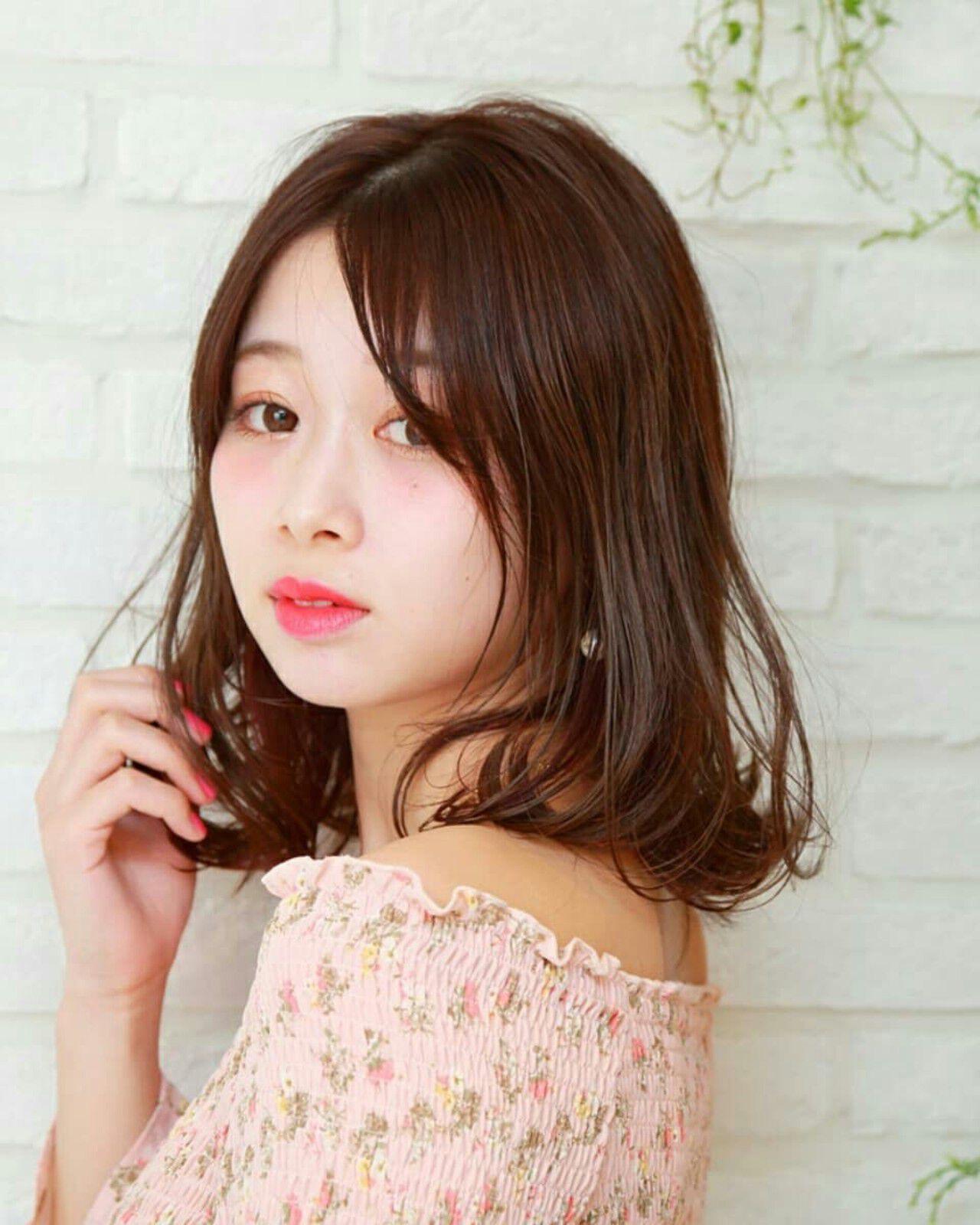 外国人風 デート 大人かわいい フェミニンヘアスタイルや髪型の写真・画像