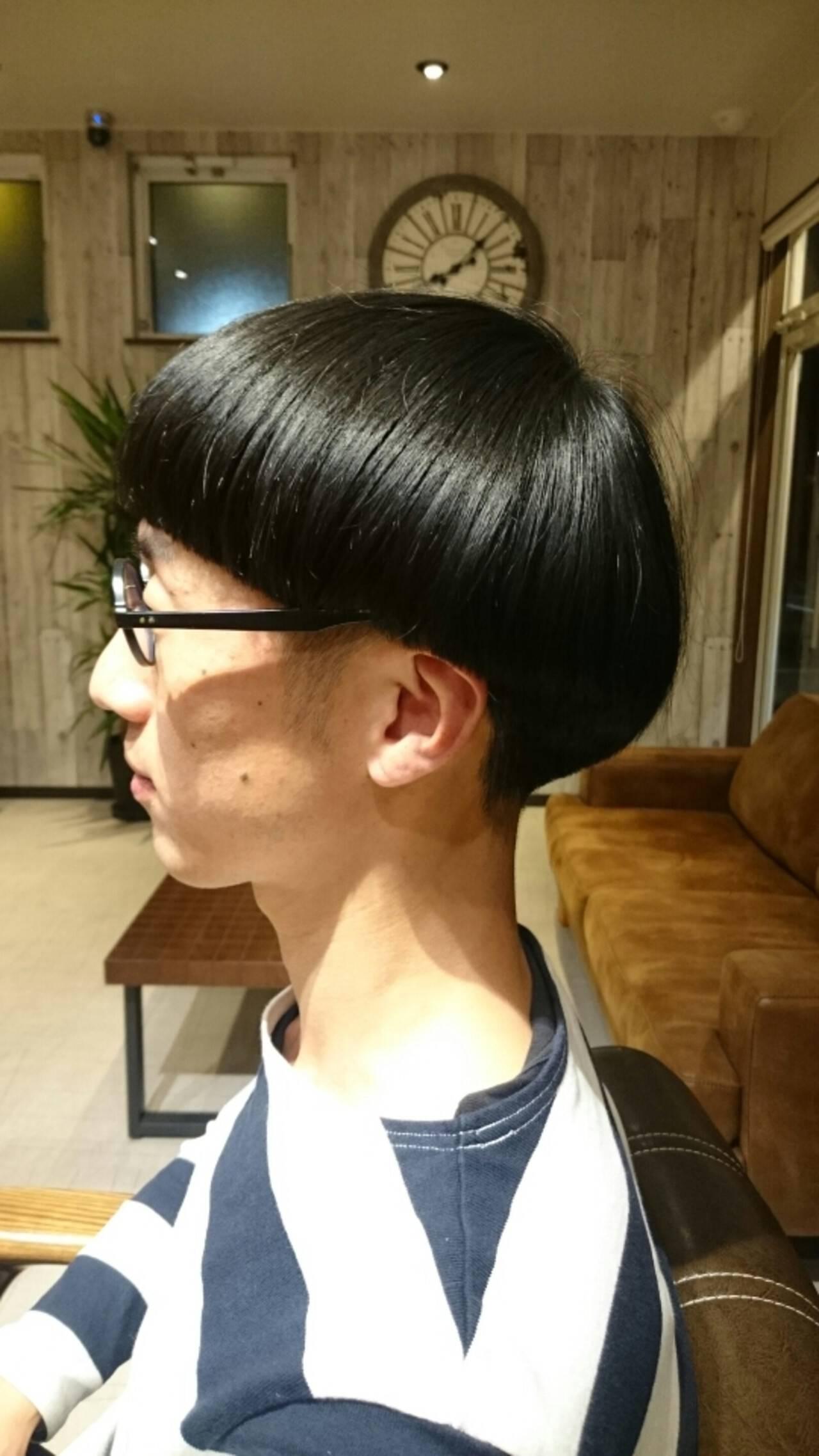 個性的 マッシュ ショート メンズヘアスタイルや髪型の写真・画像