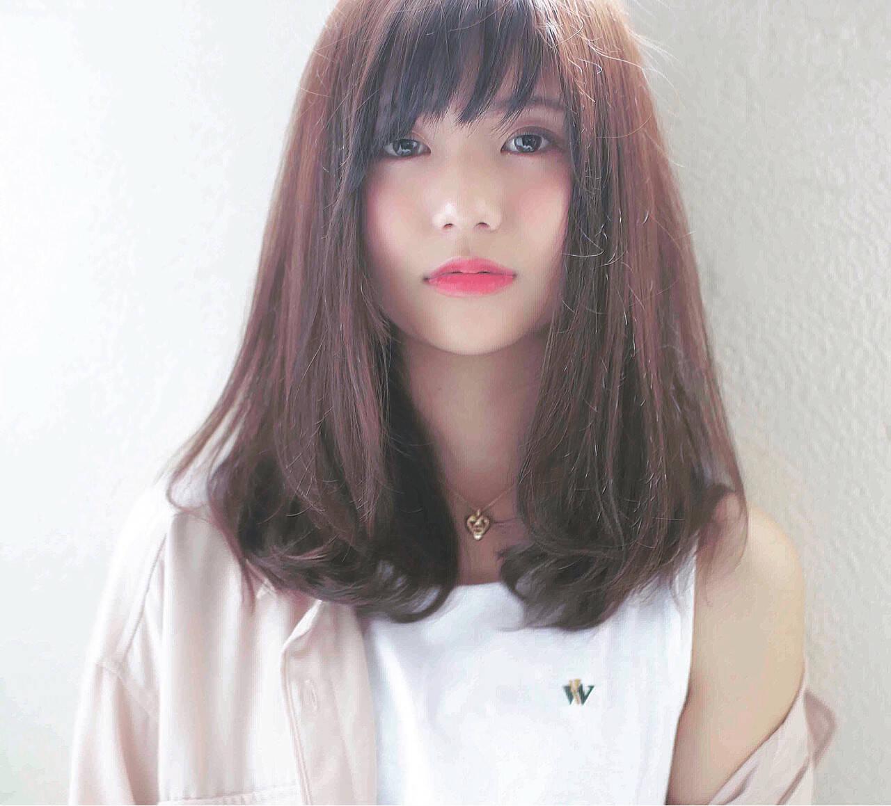 ナチュラル ふわふわ ロング 可愛いヘアスタイルや髪型の写真・画像