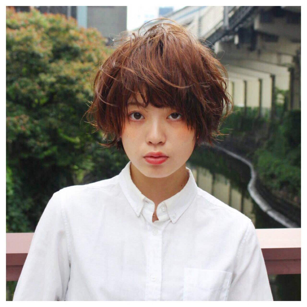 パーマ アッシュ ピュア ゆるふわヘアスタイルや髪型の写真・画像