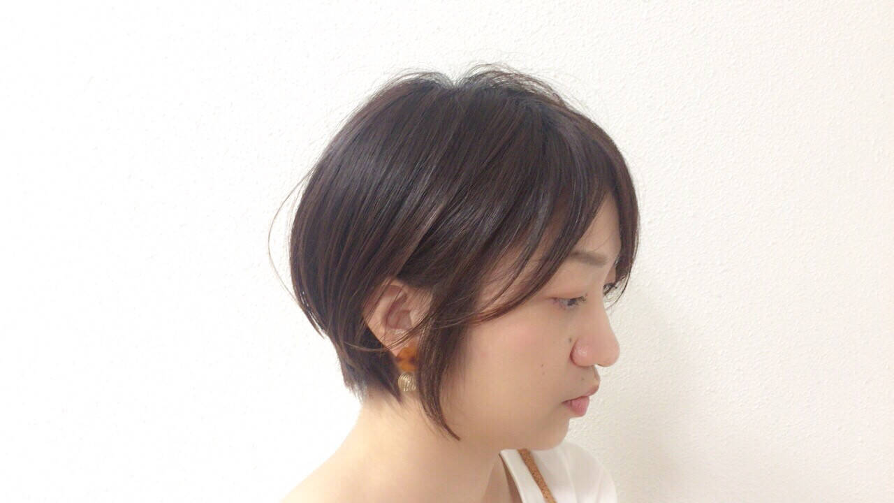女子力 オフィス エフォートレス ナチュラルヘアスタイルや髪型の写真・画像