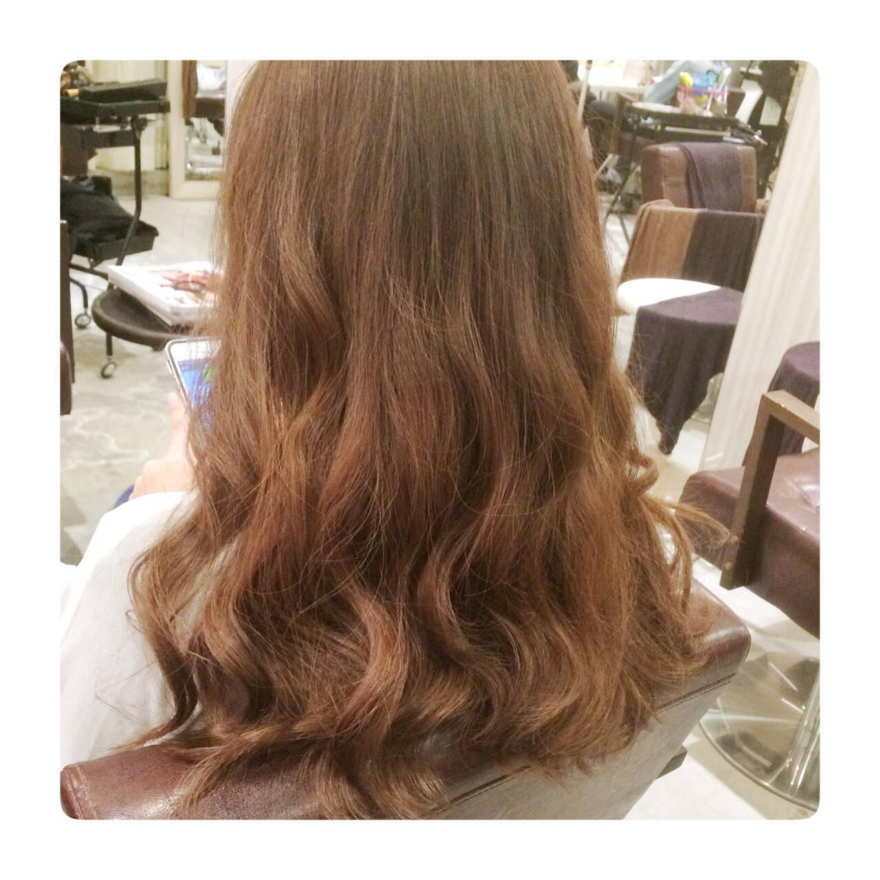 コンサバ ゆるふわ セミロング 大人かわいいヘアスタイルや髪型の写真・画像