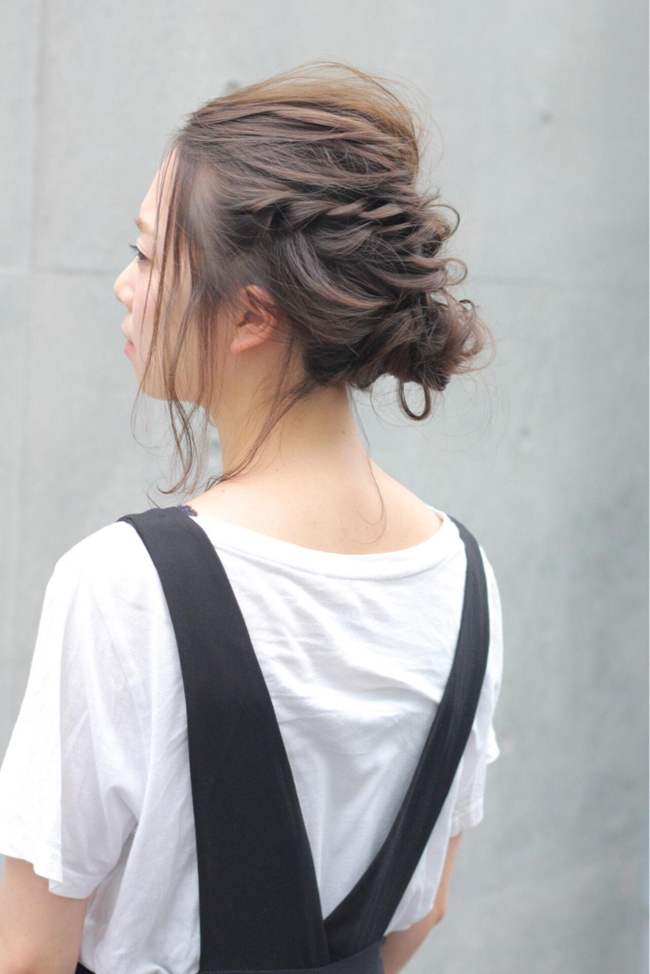 色気 秋 透明感 ナチュラルヘアスタイルや髪型の写真・画像