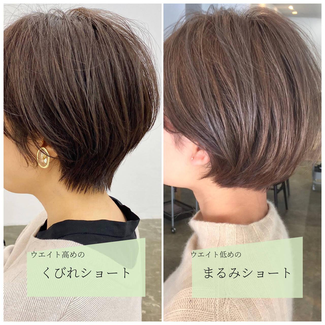 小顔ショート 大人ショート ショート ショートヘアヘアスタイルや髪型の写真・画像