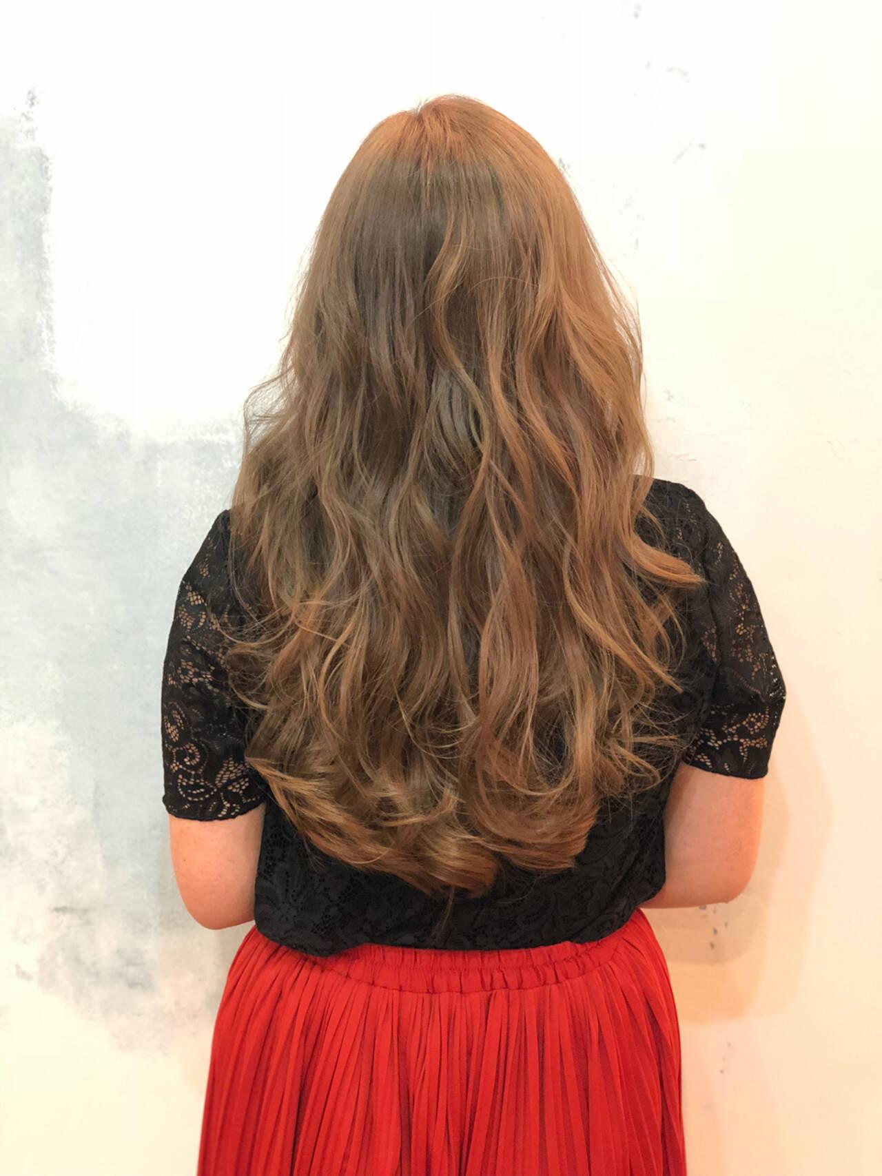 イルミナカラー 暗髪 外国人風カラー ナチュラルヘアスタイルや髪型の写真・画像
