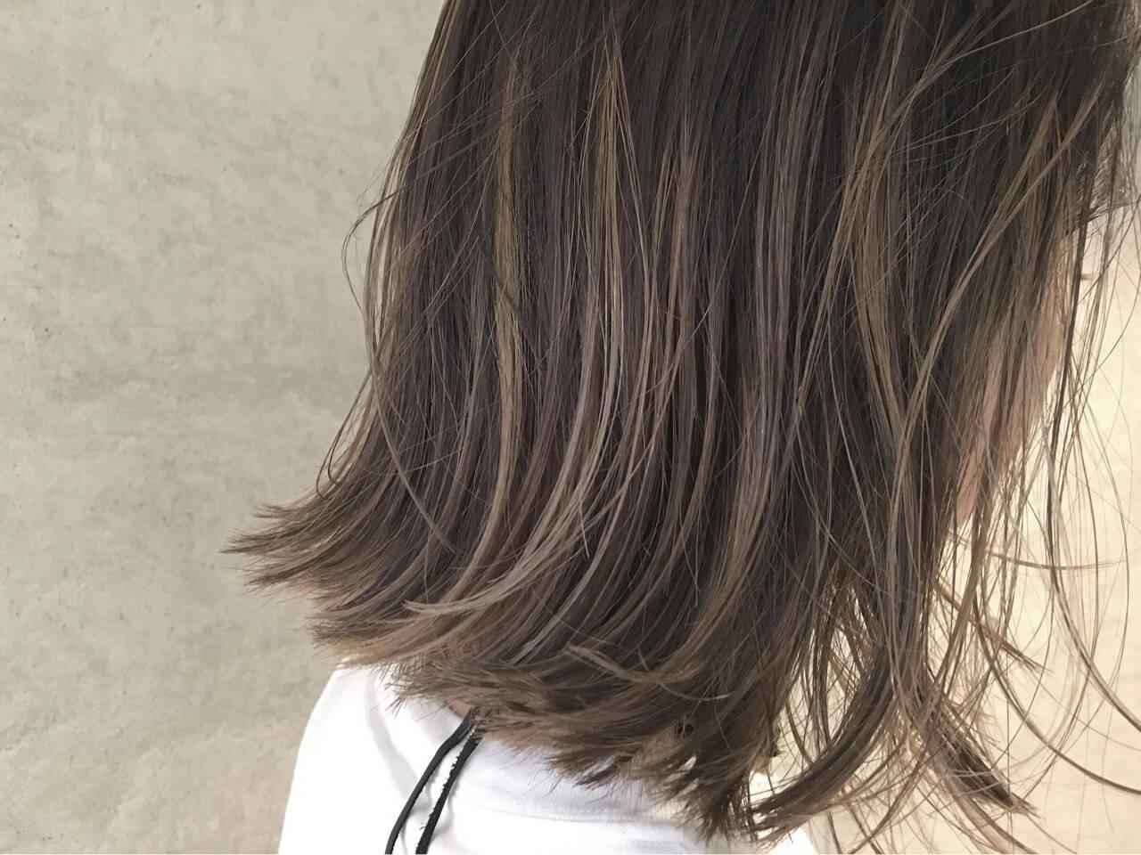 外国人風 色気 小顔 ブラウンヘアスタイルや髪型の写真・画像